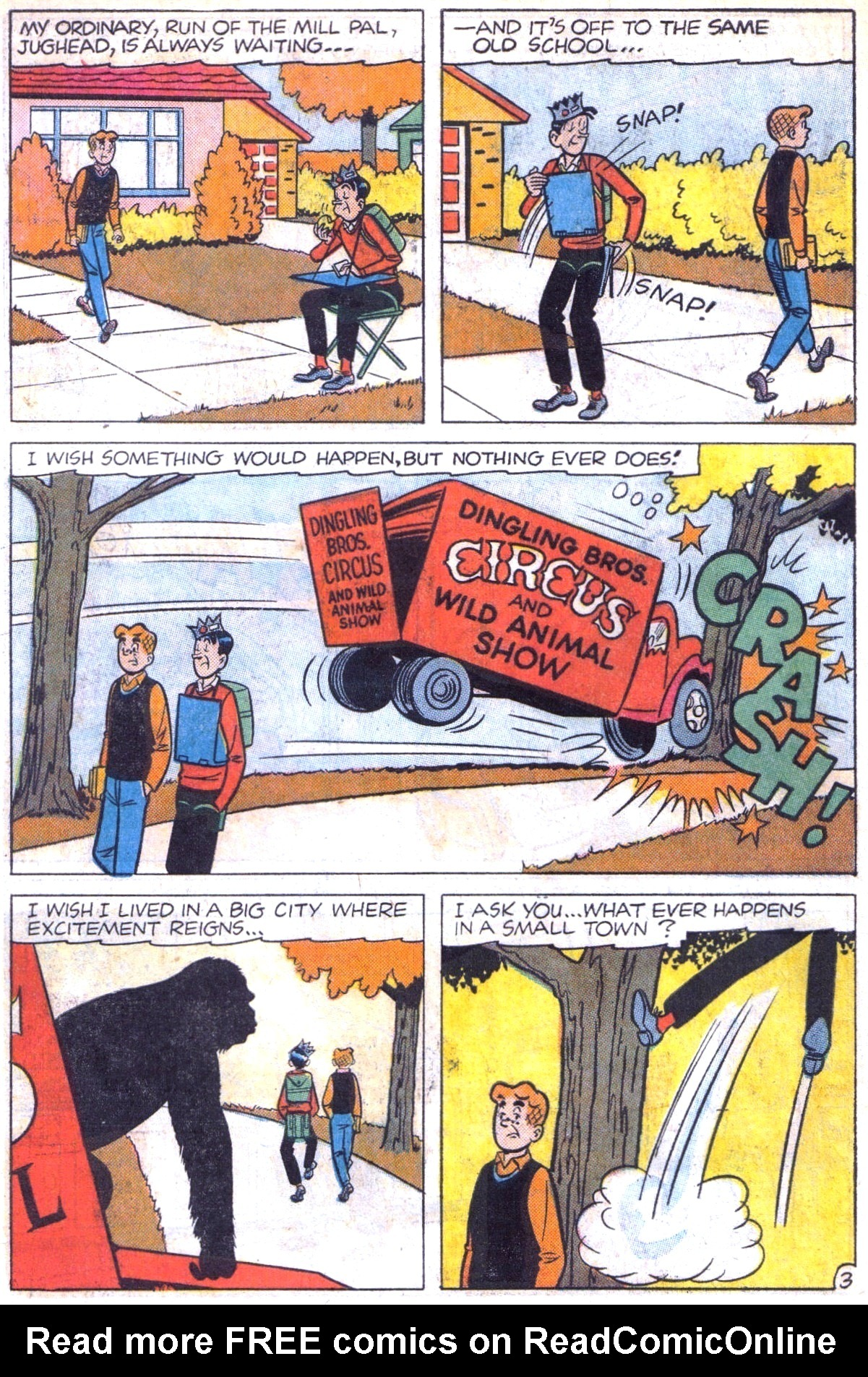 Read online Archie (1960) comic -  Issue #153 - 22