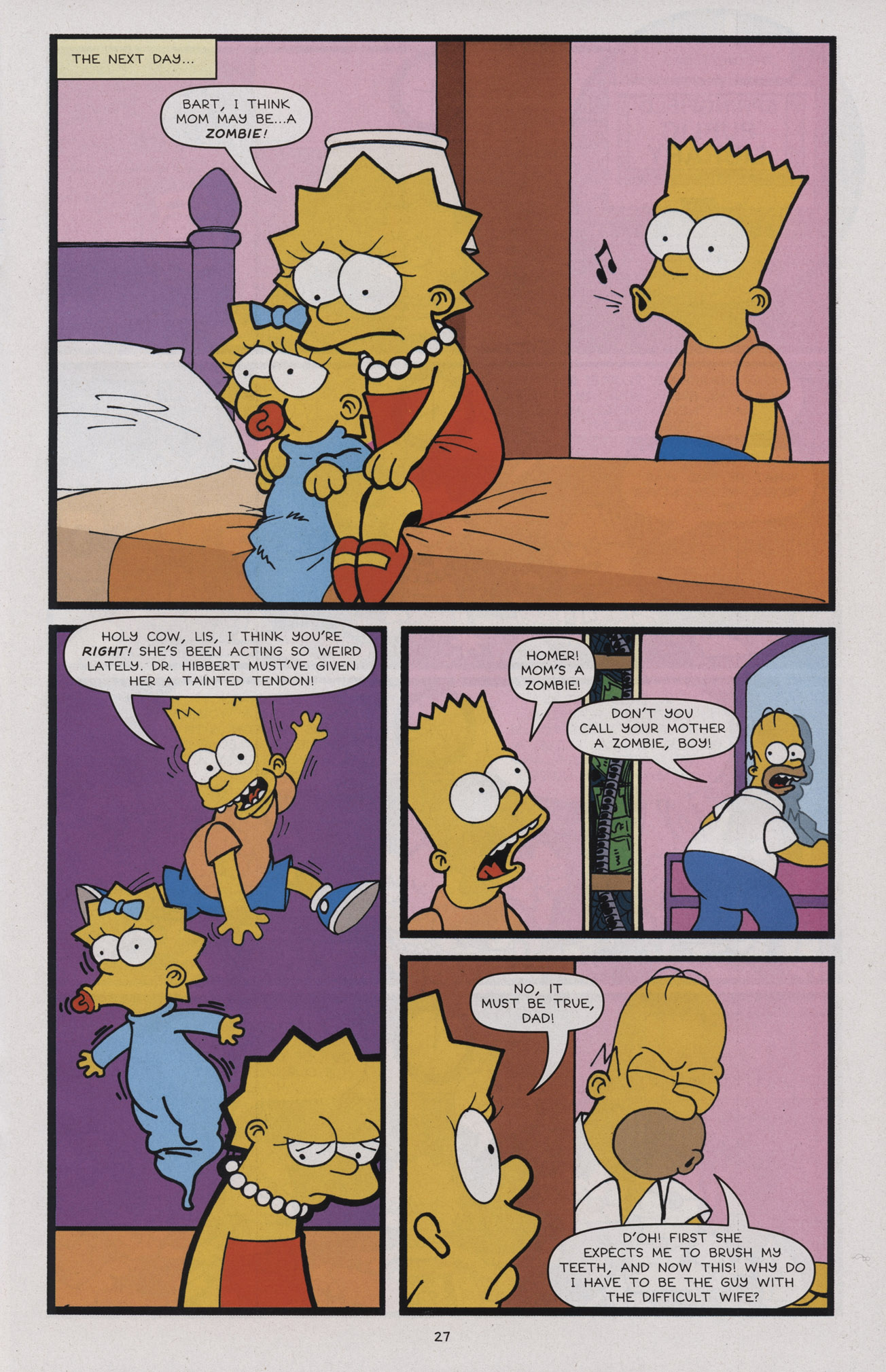 Read online Treehouse of Horror comic -  Issue #17 - 28