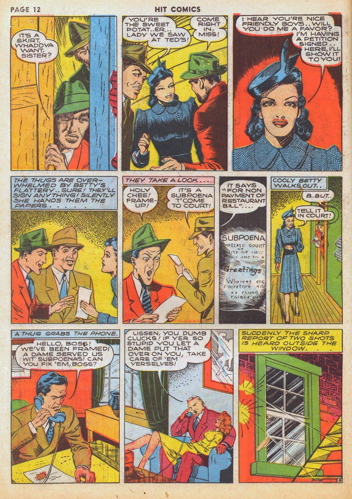 Read online Hit Comics comic -  Issue #12 - 14