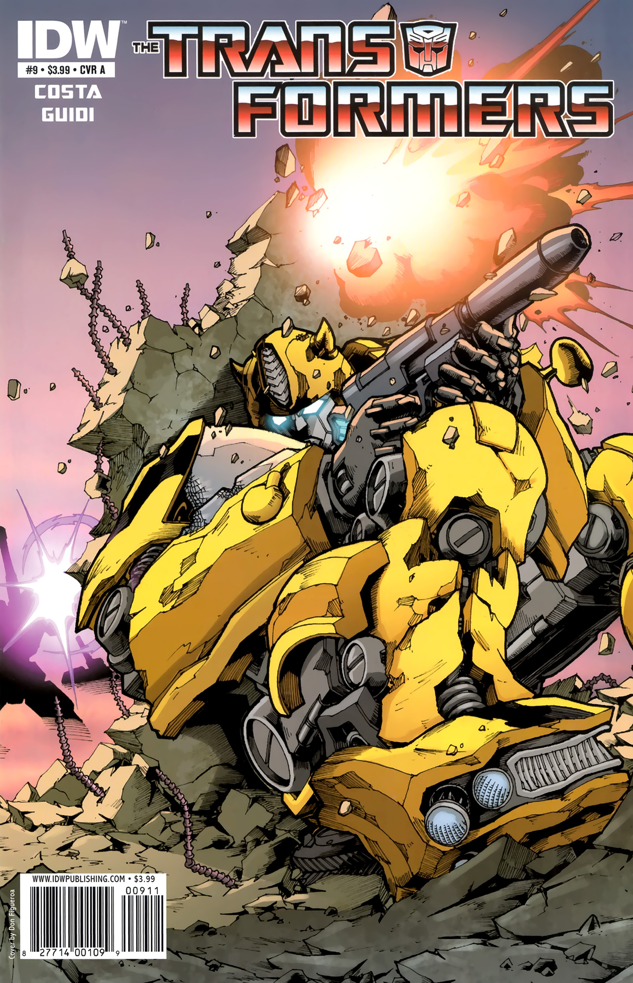 The Transformers (2009) 9 Page 1