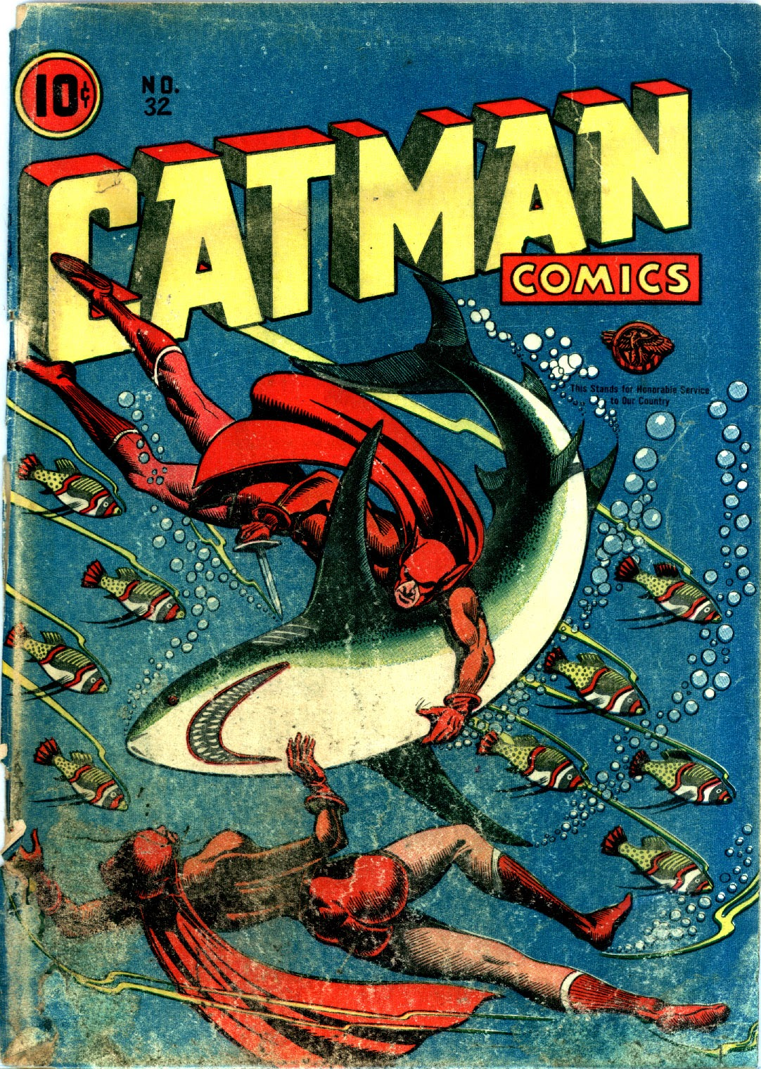 Cat-Man Comics 32 Page 1