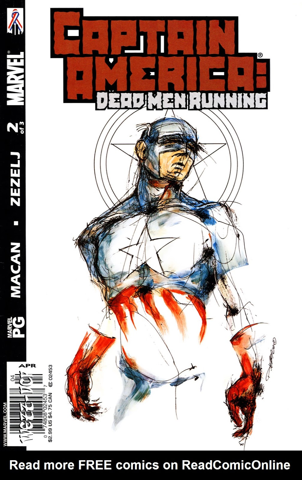 Captain America: Dead Men Running 2 Page 1