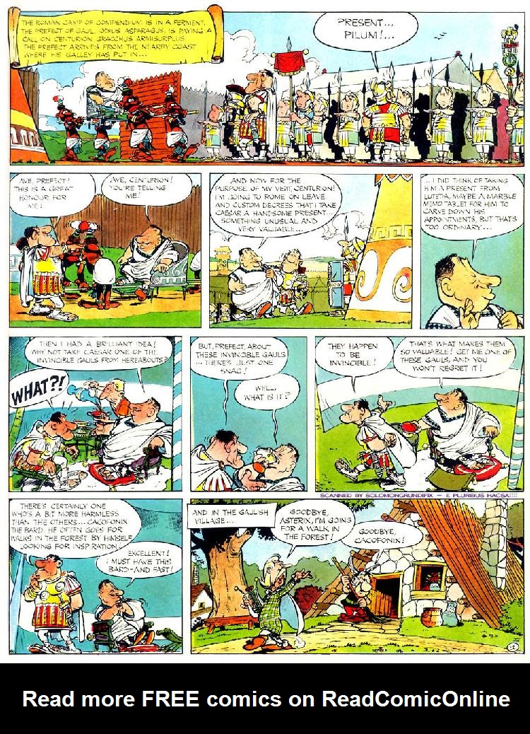 Read online Asterix comic -  Issue #4 - 5