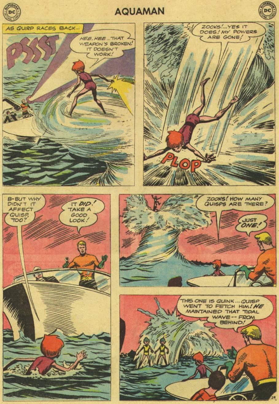Read online Aquaman (1962) comic -  Issue #6 - 32