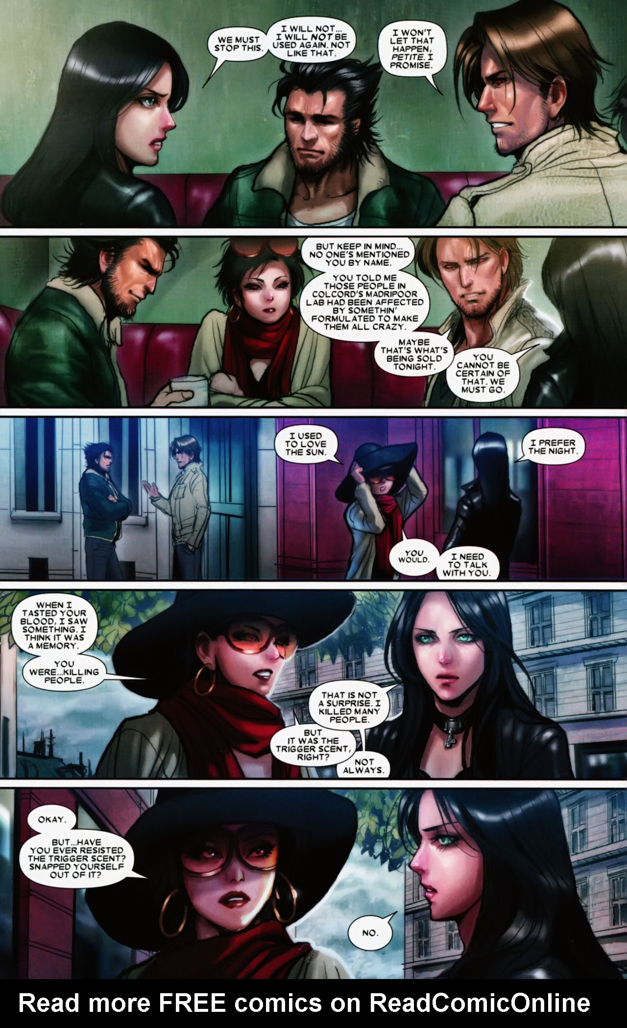 Read online X-23 (2010) comic -  Issue #11 - 12