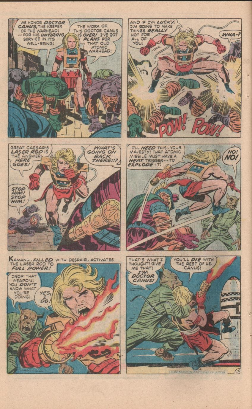Kamandi, The Last Boy On Earth issue 32 - Page 49