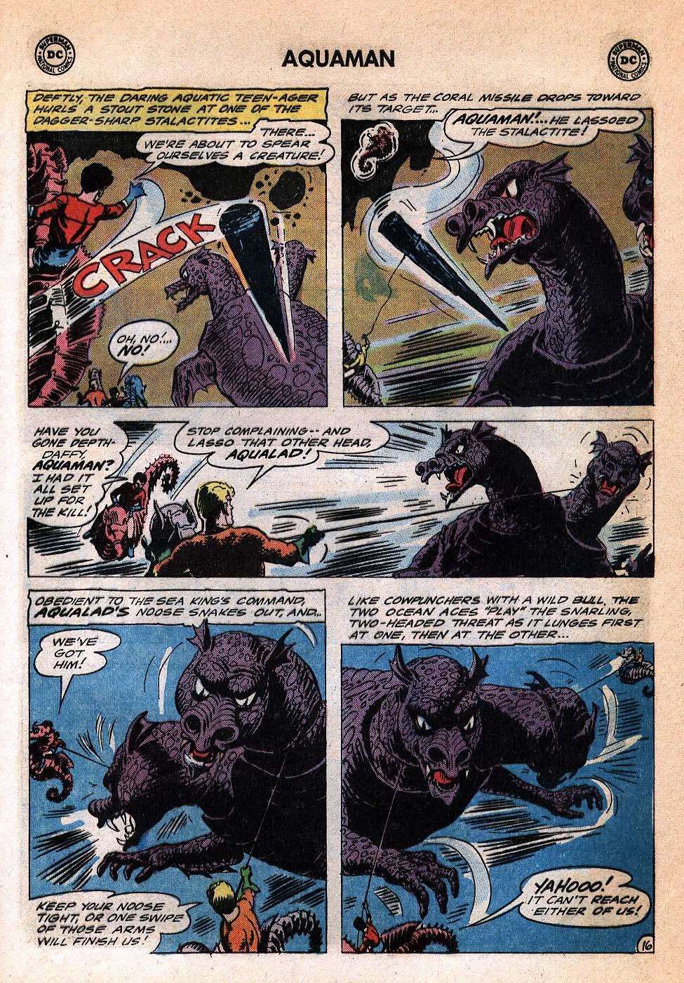 Read online Aquaman (1962) comic -  Issue #20 - 21