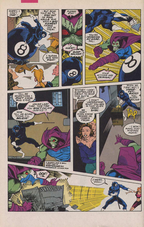 Read online Sleepwalker comic -  Issue #19 - 13