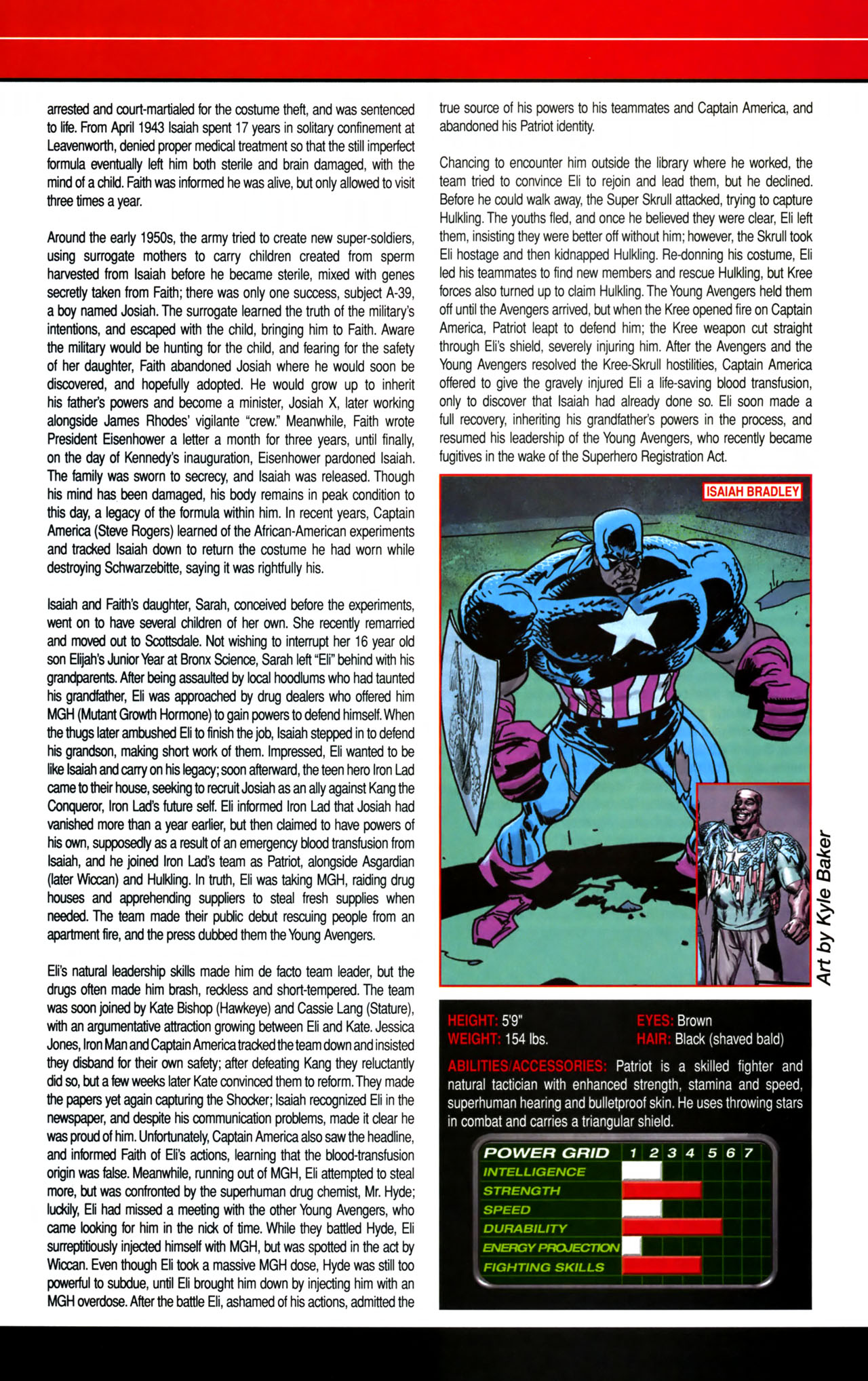 Read online All-New Official Handbook of the Marvel Universe A to Z comic -  Issue #8 - 36
