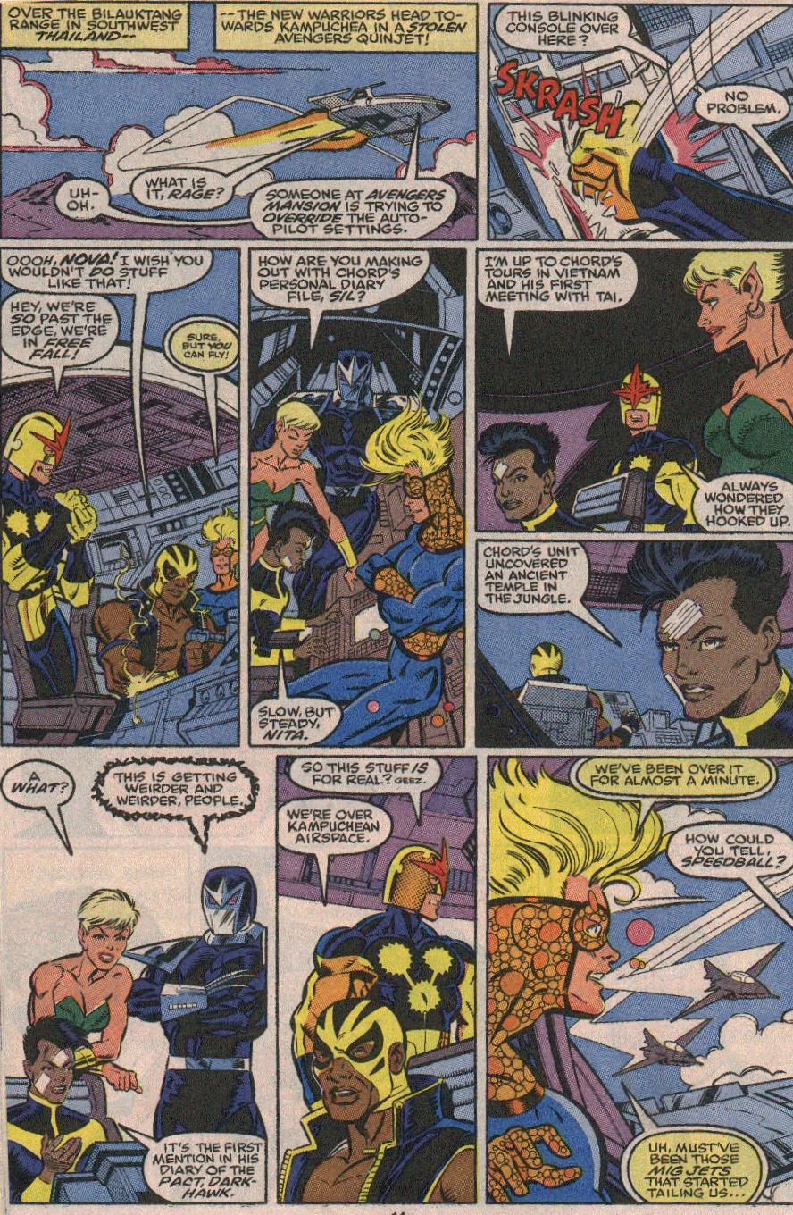 The New Warriors Issue #23 #27 - English 10