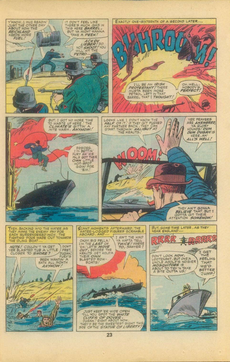 Read online Sgt. Fury comic -  Issue #136 - 25