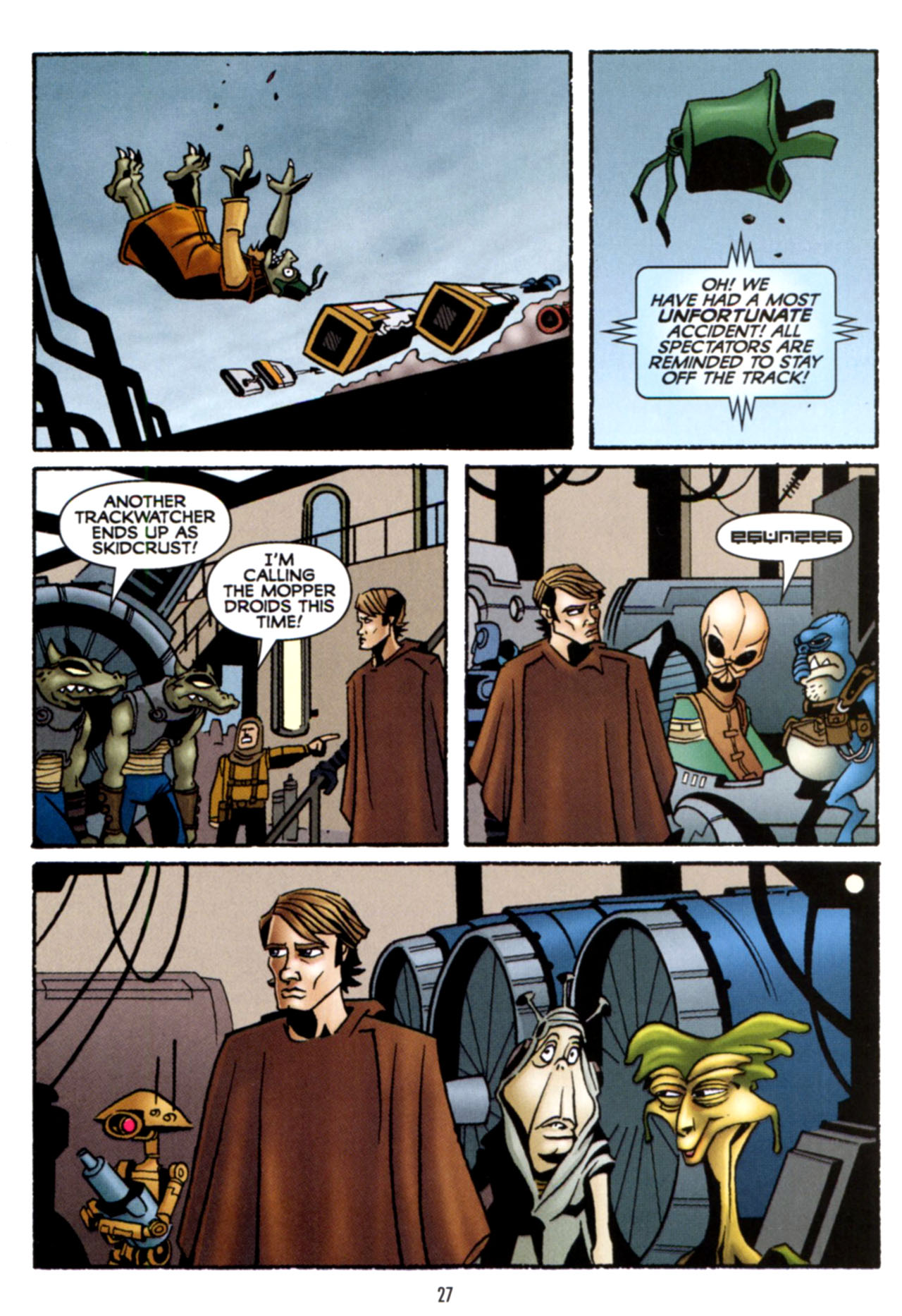 Read online Star Wars: The Clone Wars - Crash Course comic -  Issue # Full - 28
