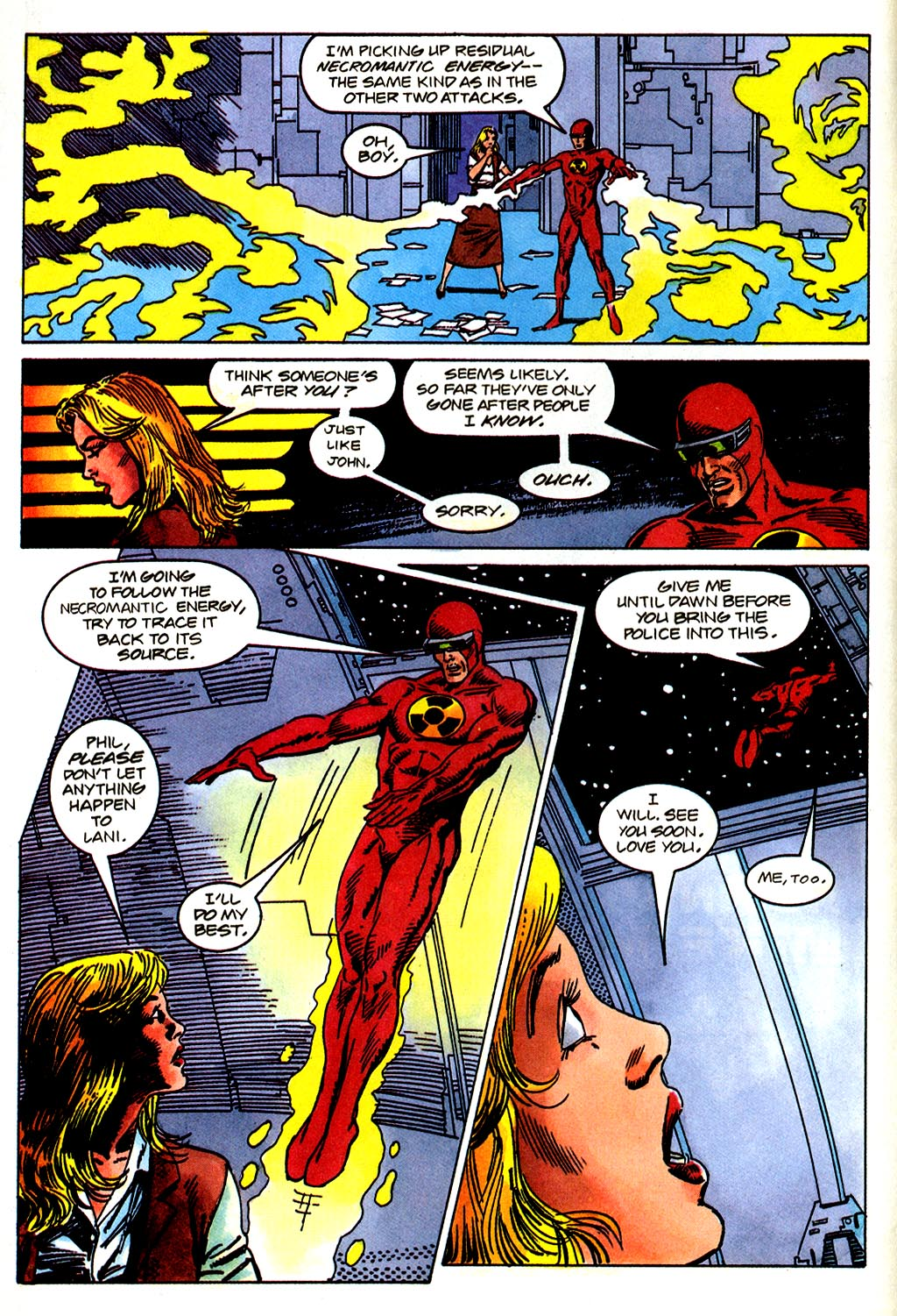 Read online Solar, Man of the Atom comic -  Issue #43 - 6