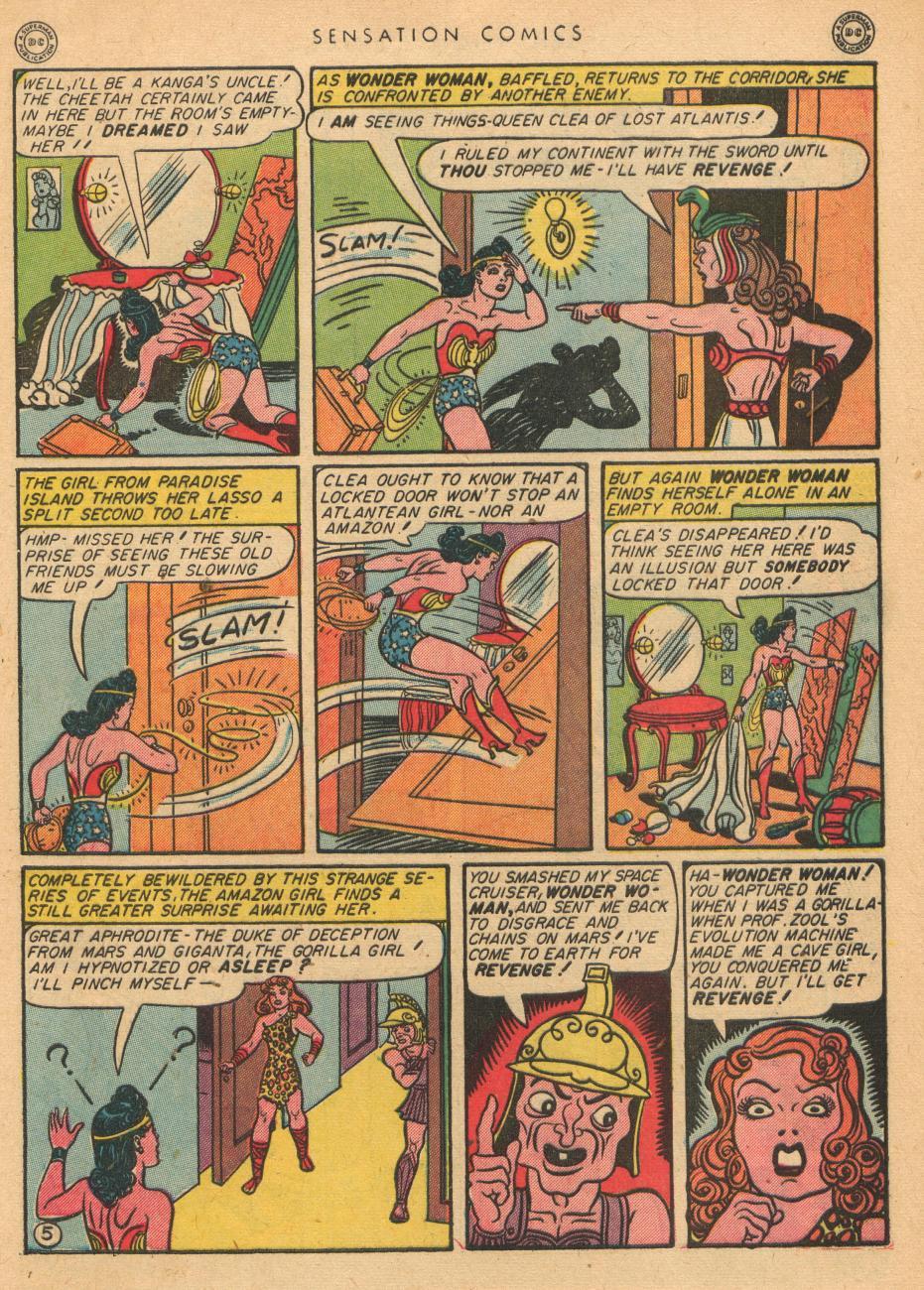Read online Sensation (Mystery) Comics comic -  Issue #36 - 7