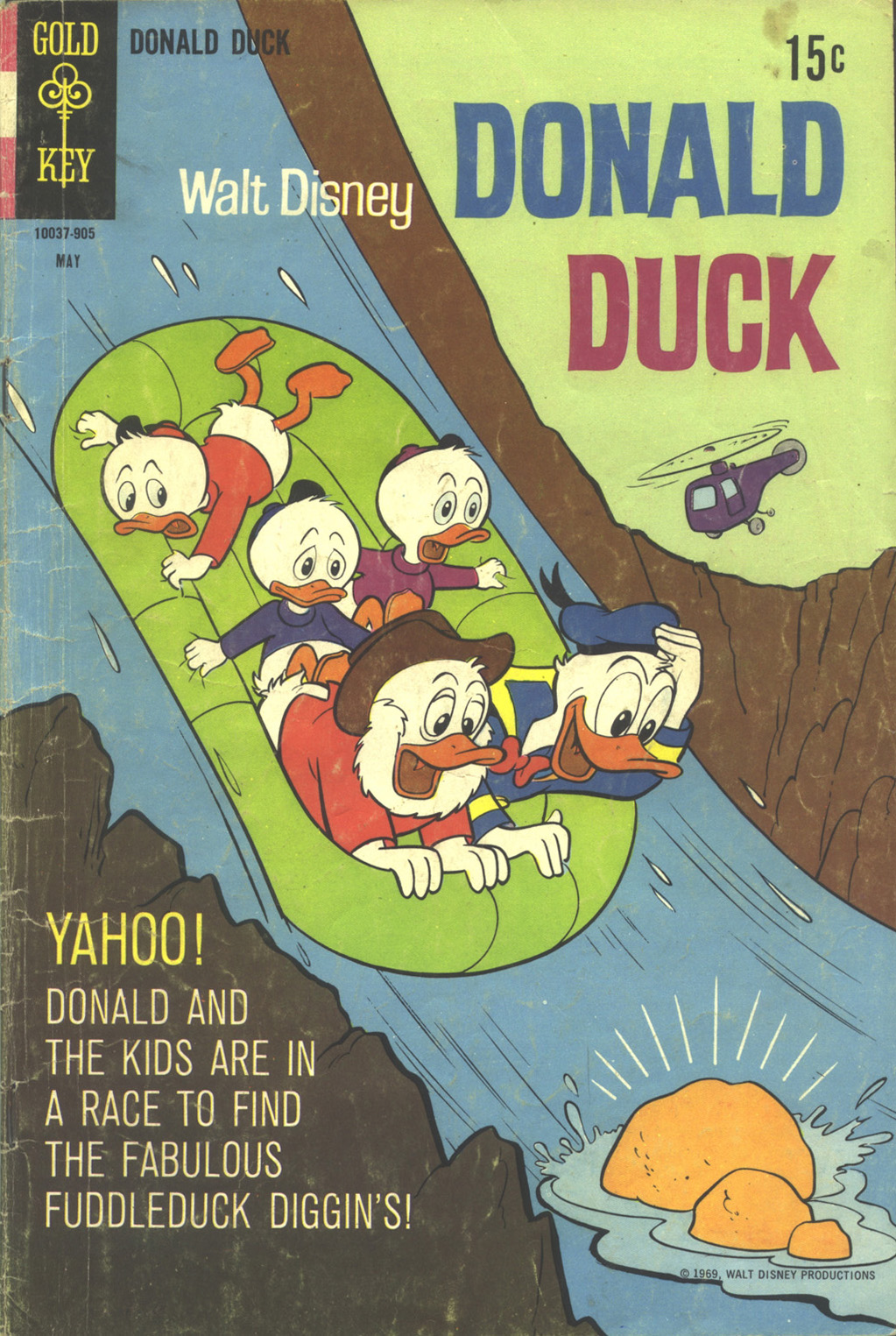 Walt Disney's Donald Duck (1952) issue 125 - Page 1