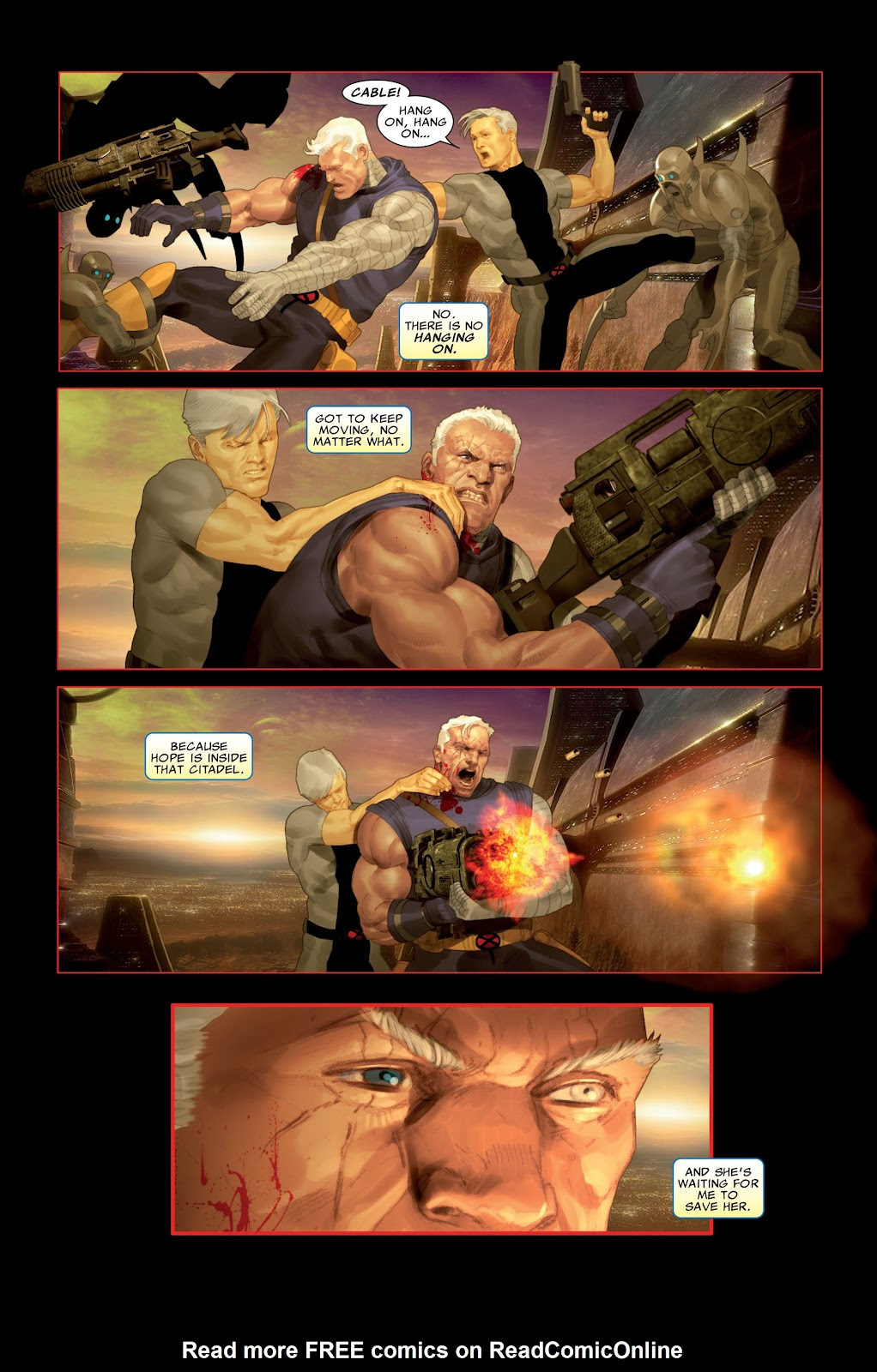 Read online X-Force/Cable: Messiah War comic -  Issue # _TPB (Part 2) - 62