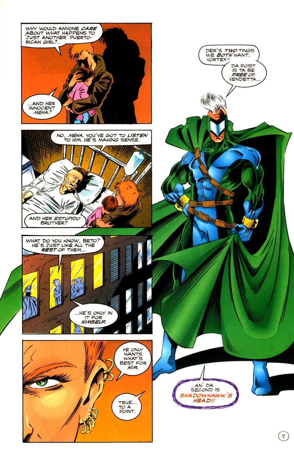Read online ShadowHawk comic -  Issue #8 - 7