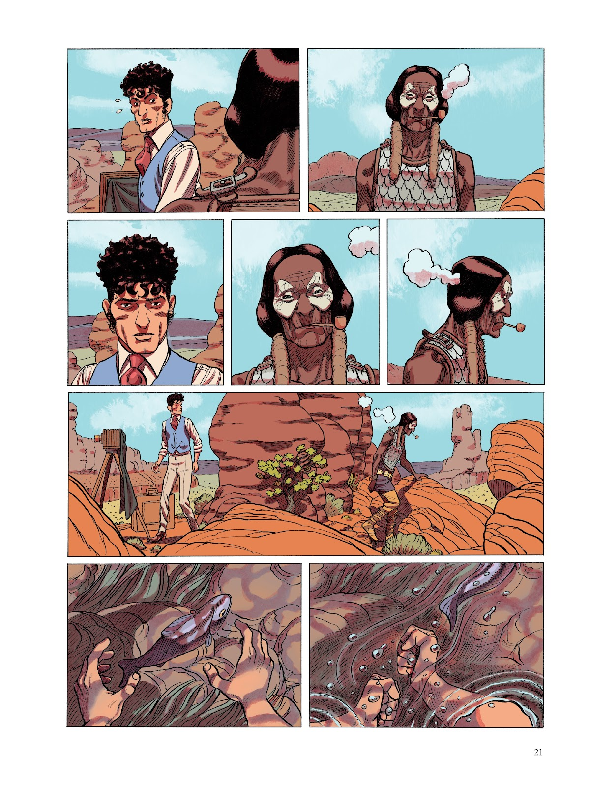 Read online The Smell of Starving Boys comic -  Issue # TPB - 22