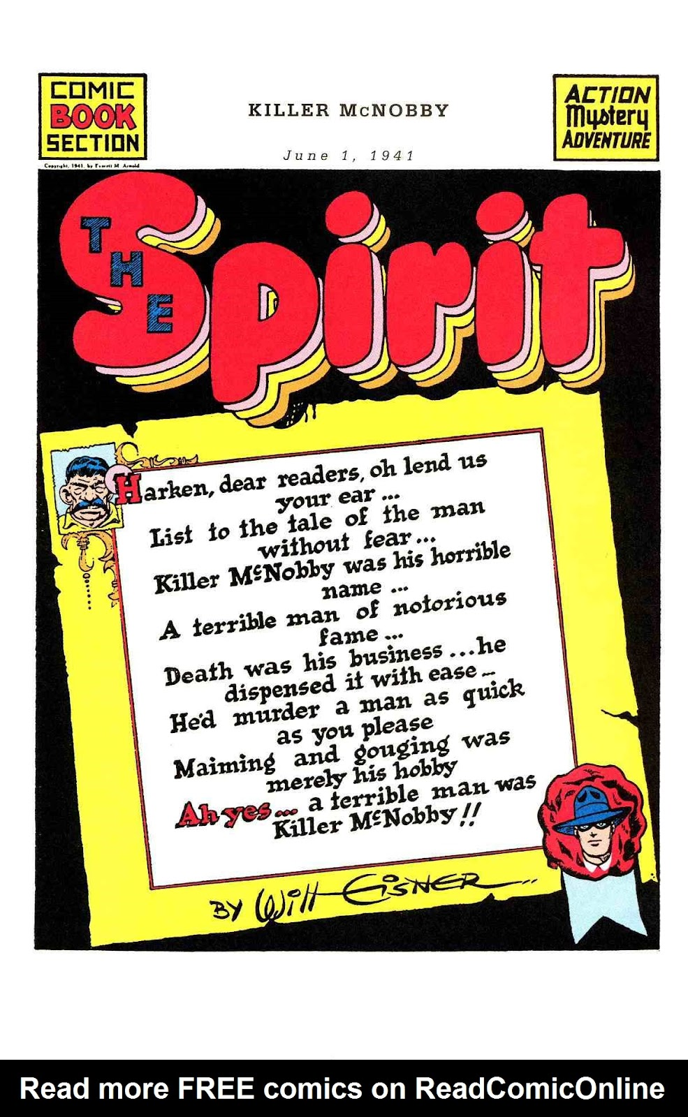 Read online Will Eisner's The Spirit Archives comic -  Issue # TPB 2 (Part 2) - 69