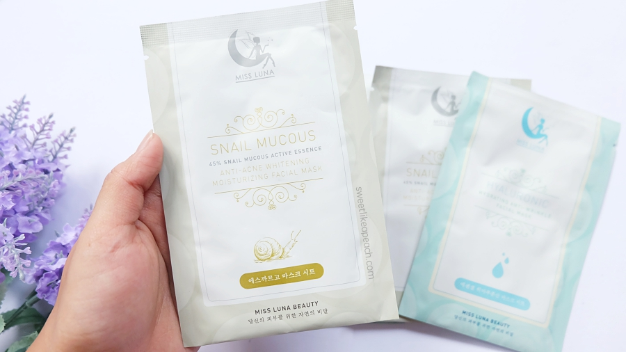 Miss Luna Beauty Snail Mucous Facial Mask