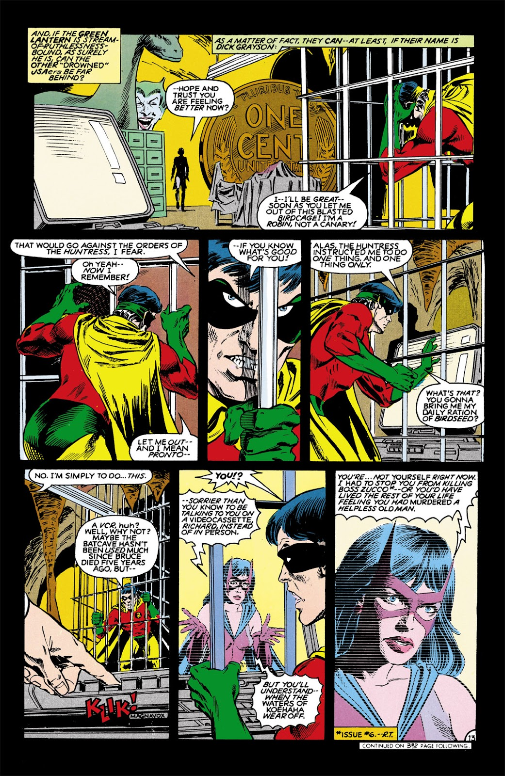 Infinity Inc. (1984) issue 9 - Page 13
