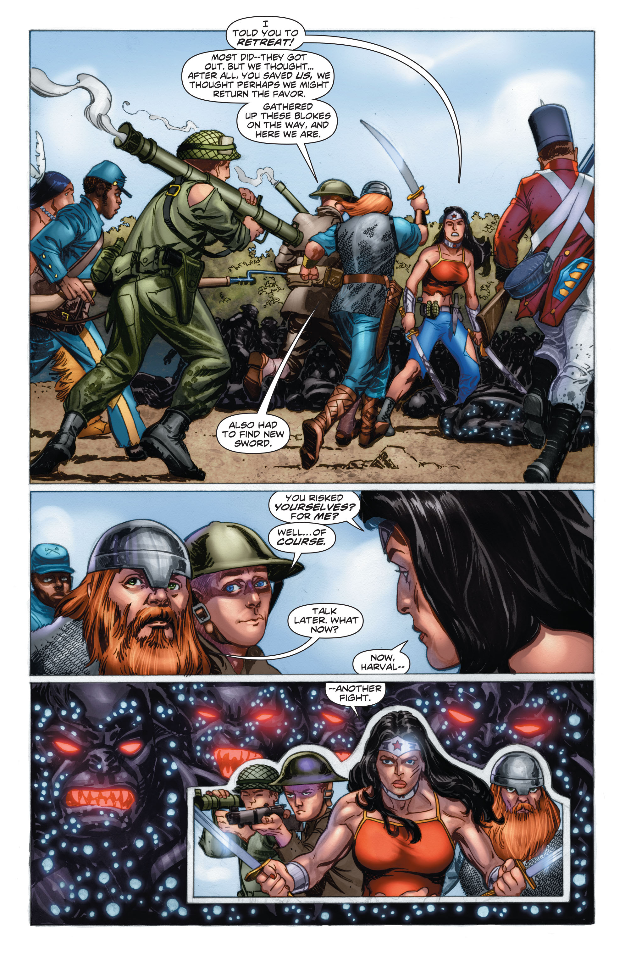 Read online Wonder Woman: Futures End comic -  Issue # Full - 10