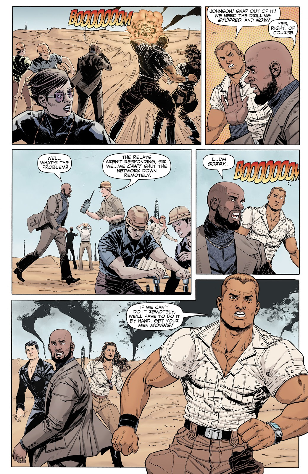 Doc Savage (2013) issue 4 - Page 13