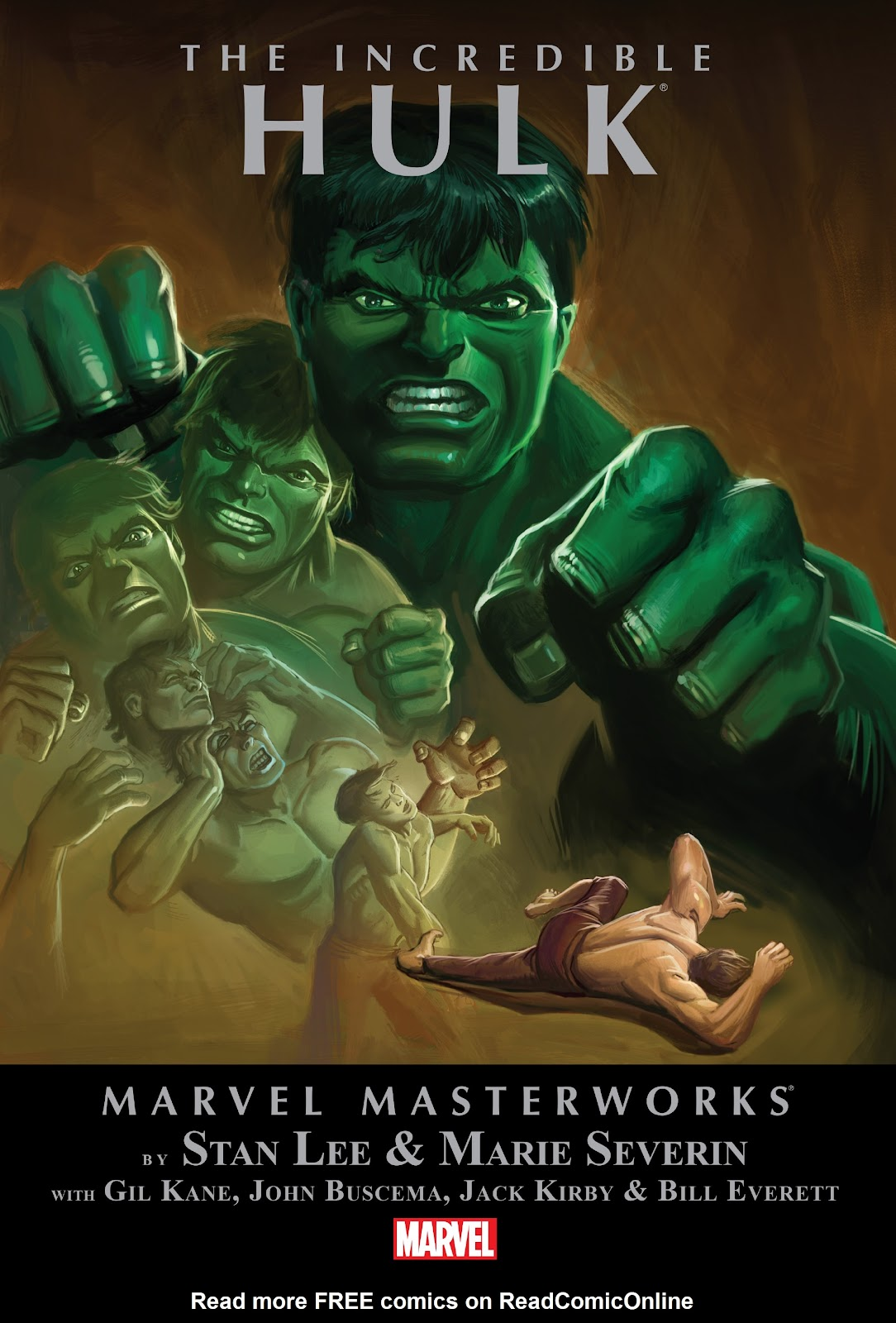 Read online Marvel Masterworks: The Incredible Hulk comic -  Issue # TPB 3 (Part 1) - 1