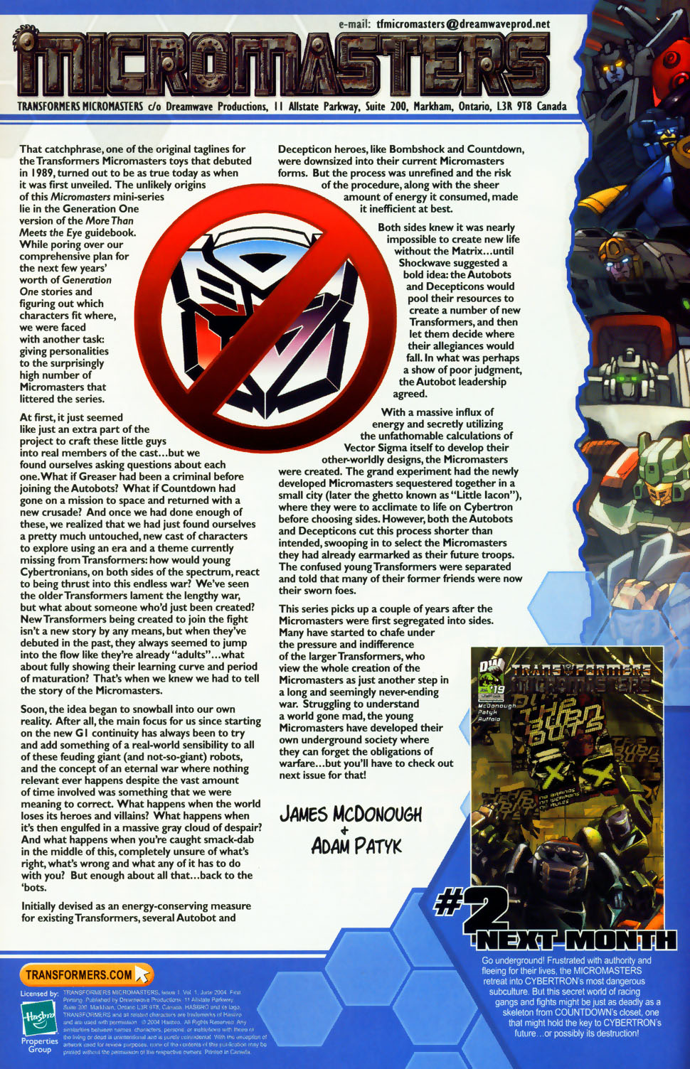 Read online Transformers: Micromasters comic -  Issue #1 - 25