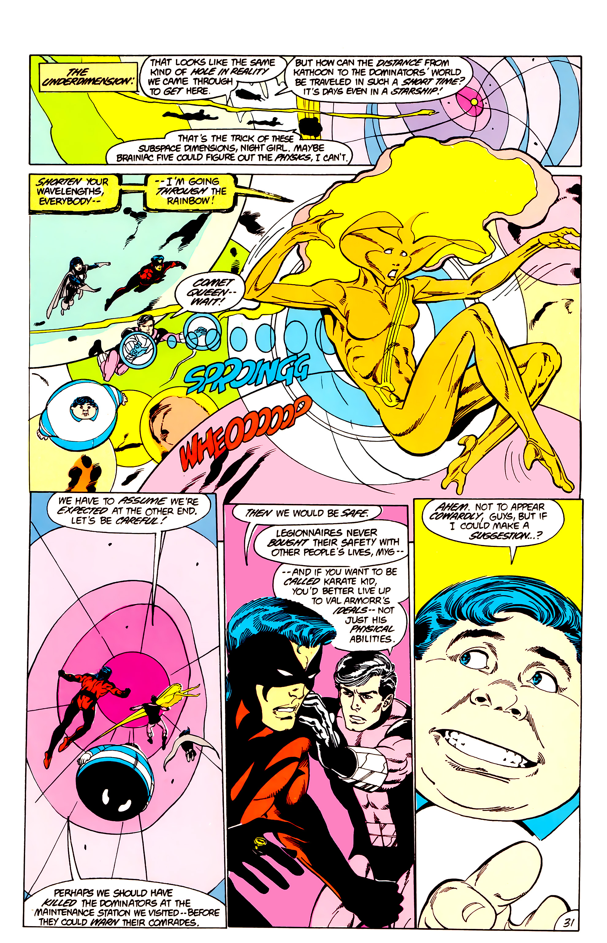 Legion of Super-Heroes (1984) _Annual_3 Page 31