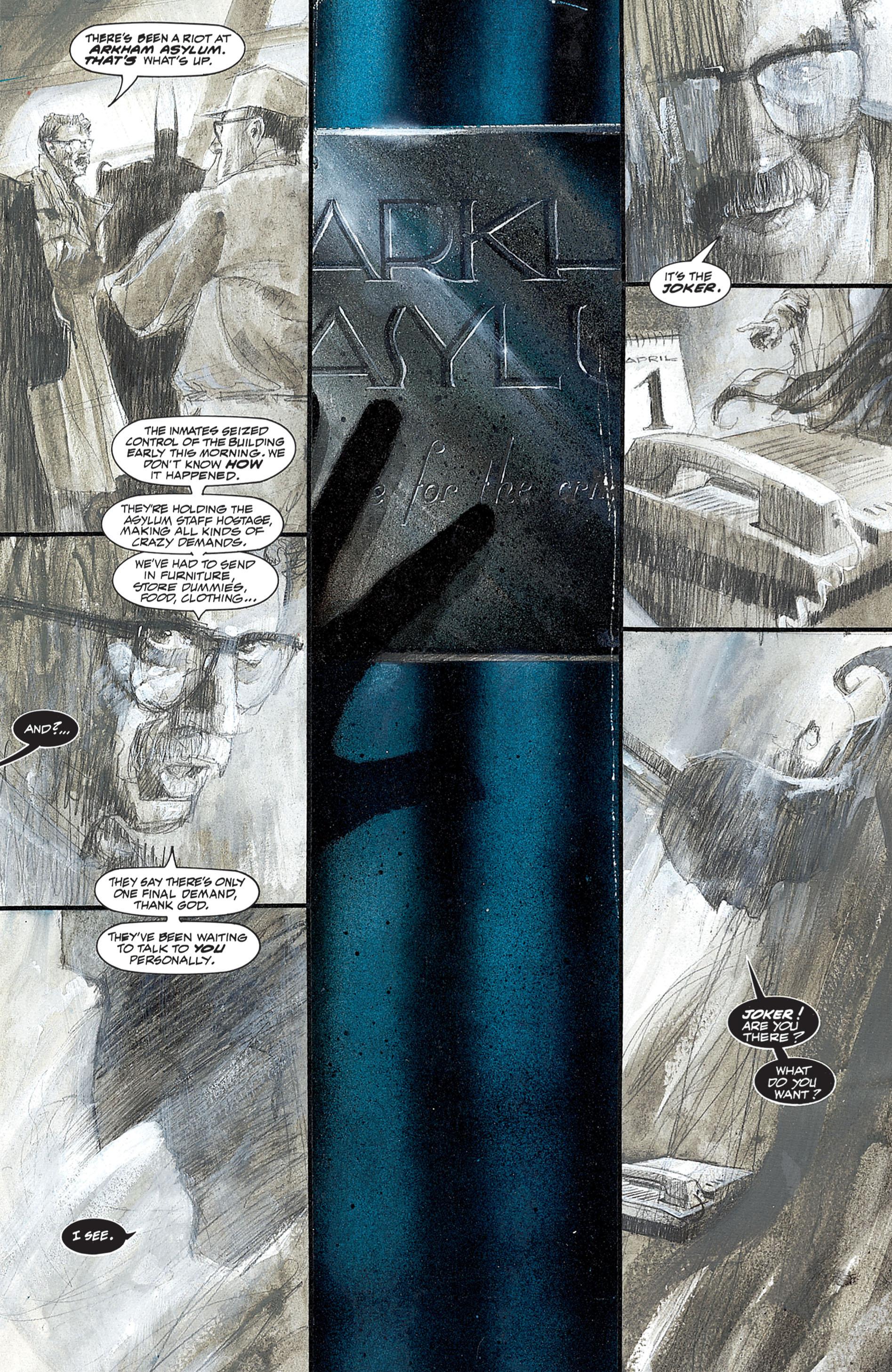 Read online Arkham Asylum comic -  Issue #Arkham Asylum Full - 15