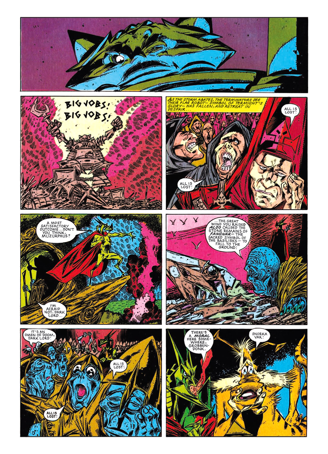 Read online Nemesis The Warlock comic -  Issue # TPB Deviant Edition - 195
