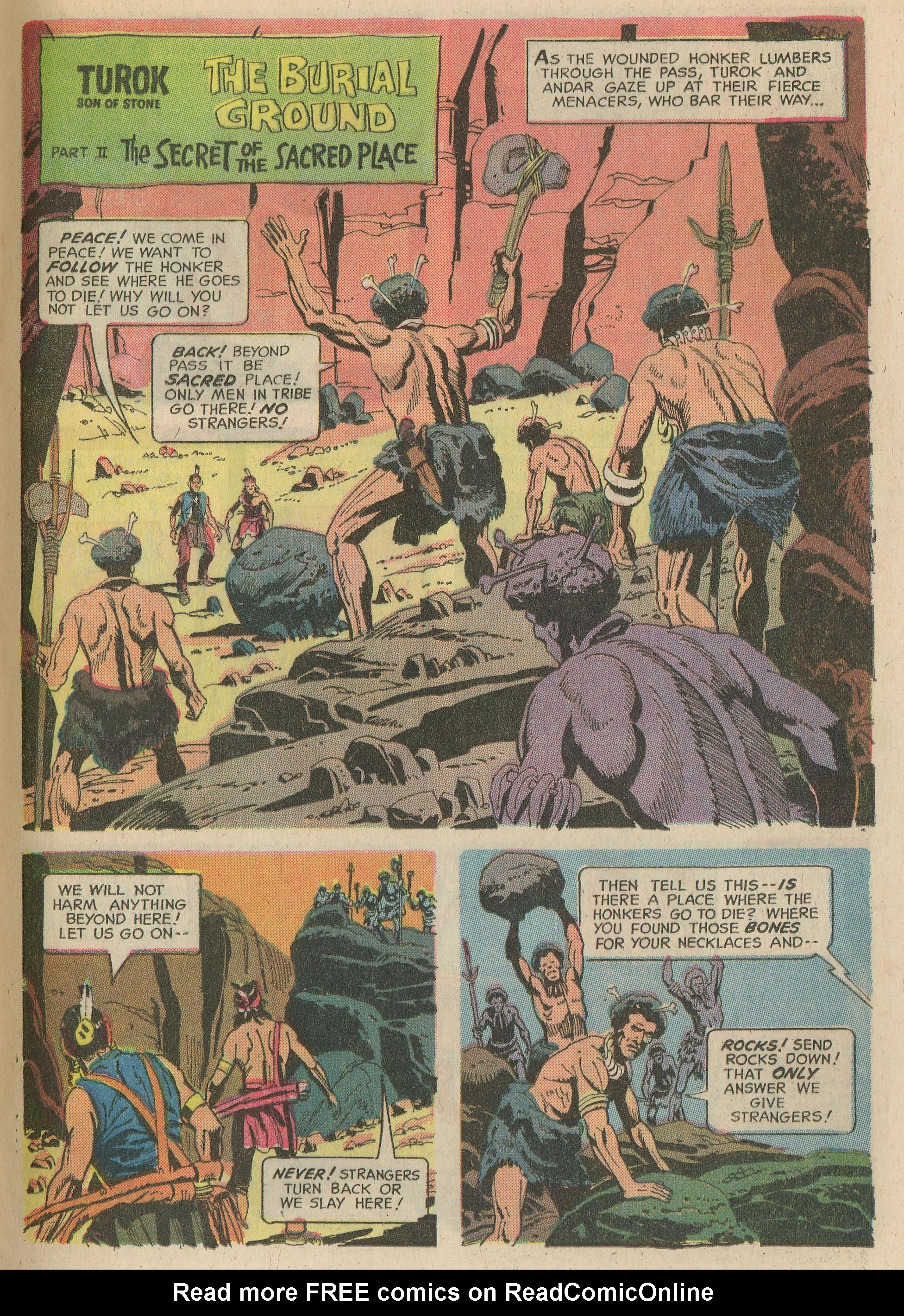 Read online Turok, Son of Stone comic -  Issue #65 - 21
