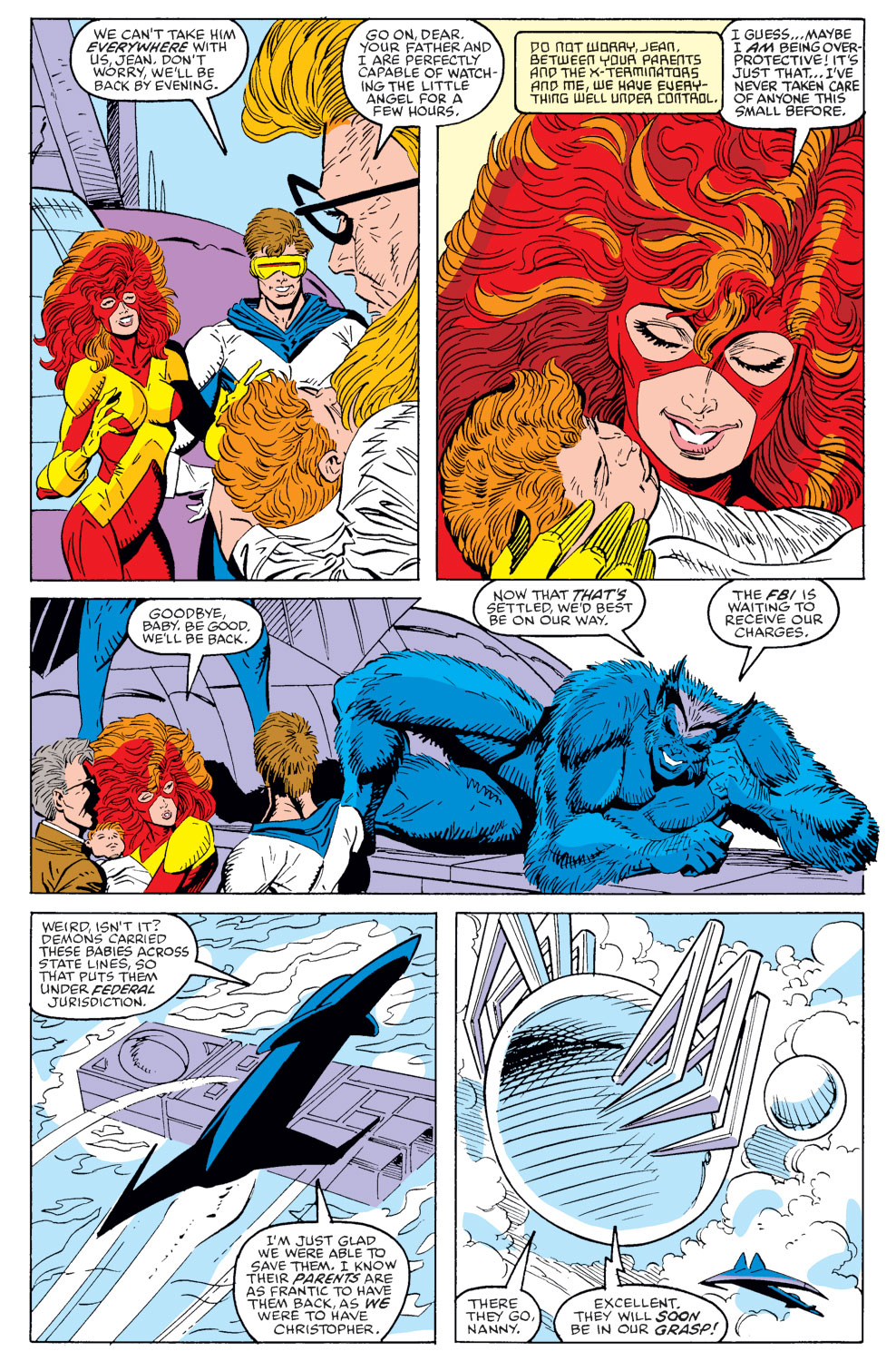 Read online X-Factor (1986) comic -  Issue #40 - 8