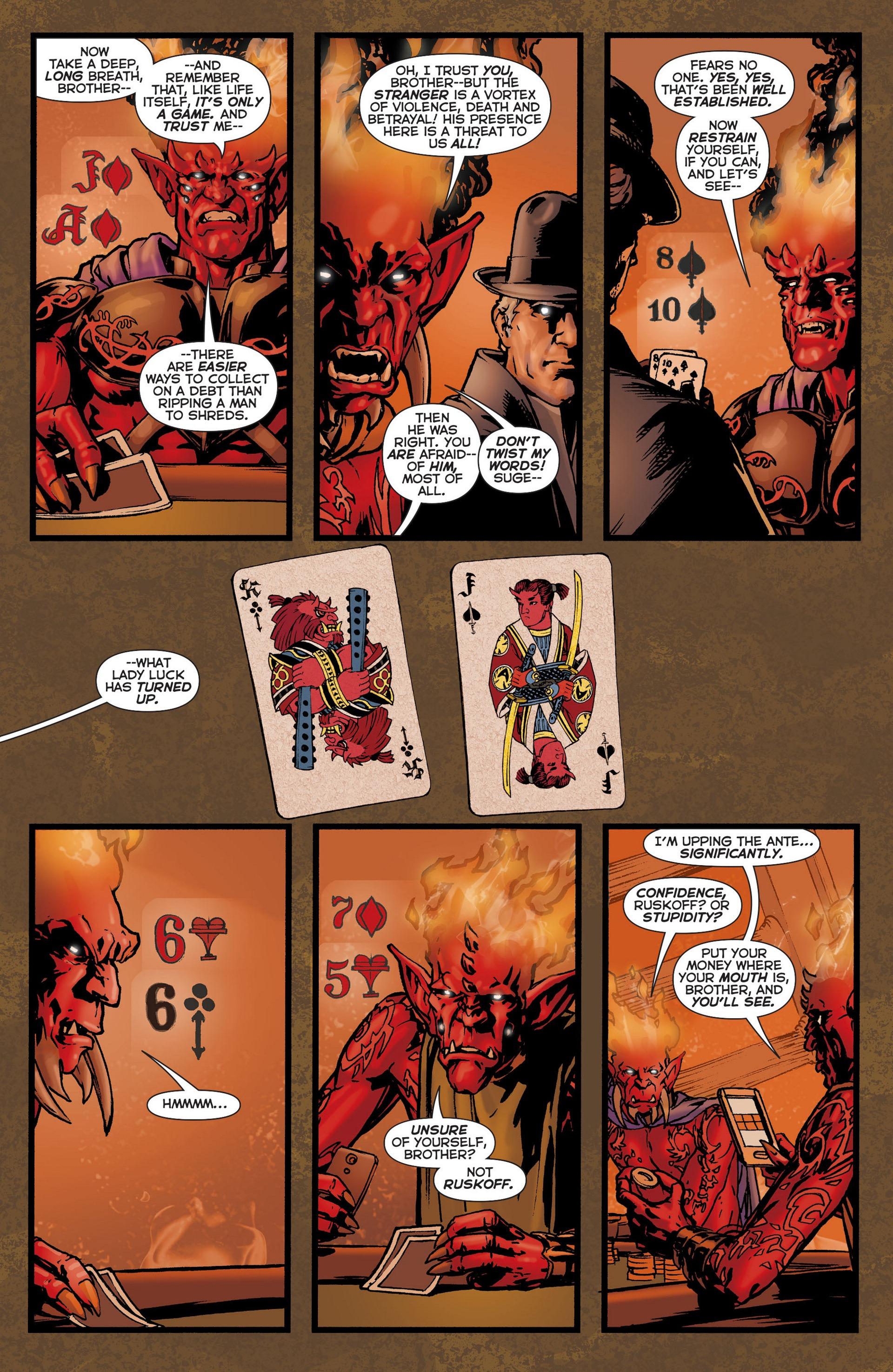 Read online Trinity of Sin: The Phantom Stranger comic -  Issue #6 - 12