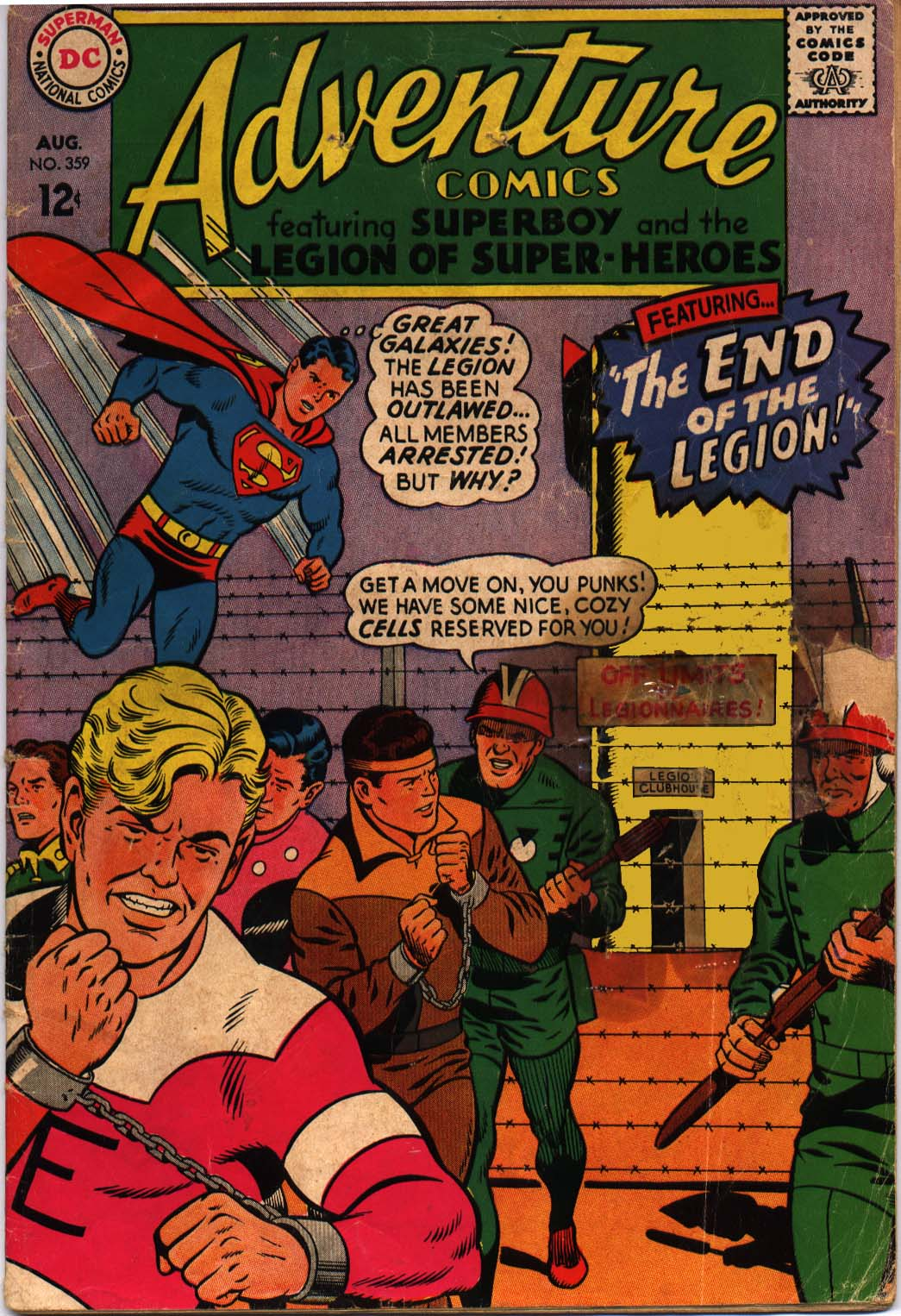 Read online Adventure Comics (1938) comic -  Issue #359 - 1