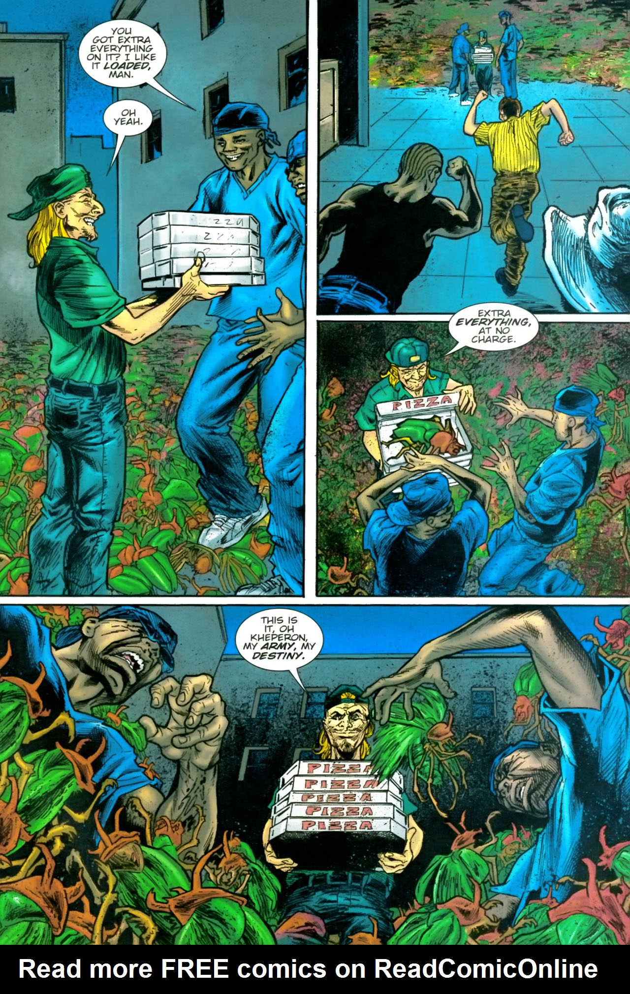 Read online The Exterminators comic -  Issue #22 - 21