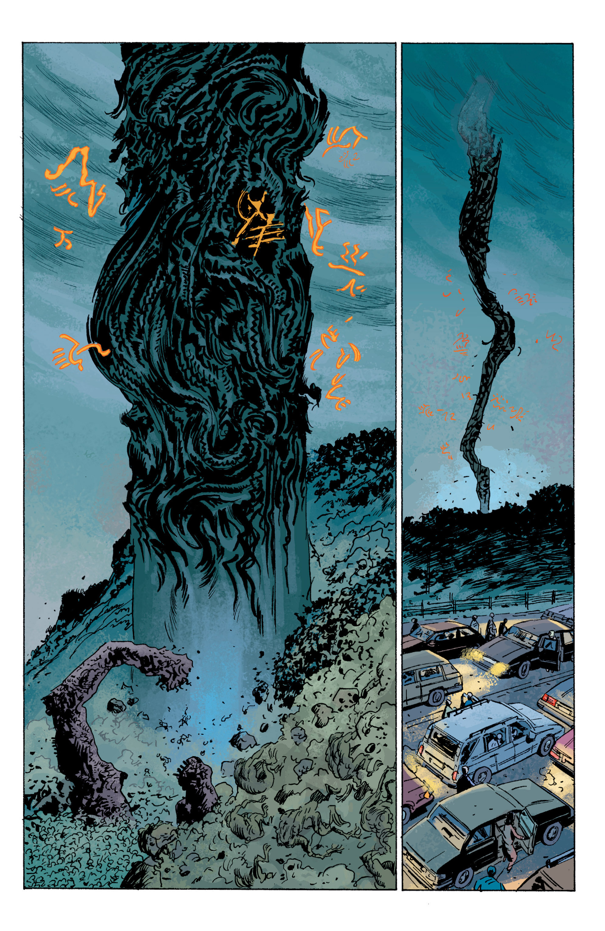 Read online B.P.R.D. (2003) comic -  Issue # TPB 5 - 106