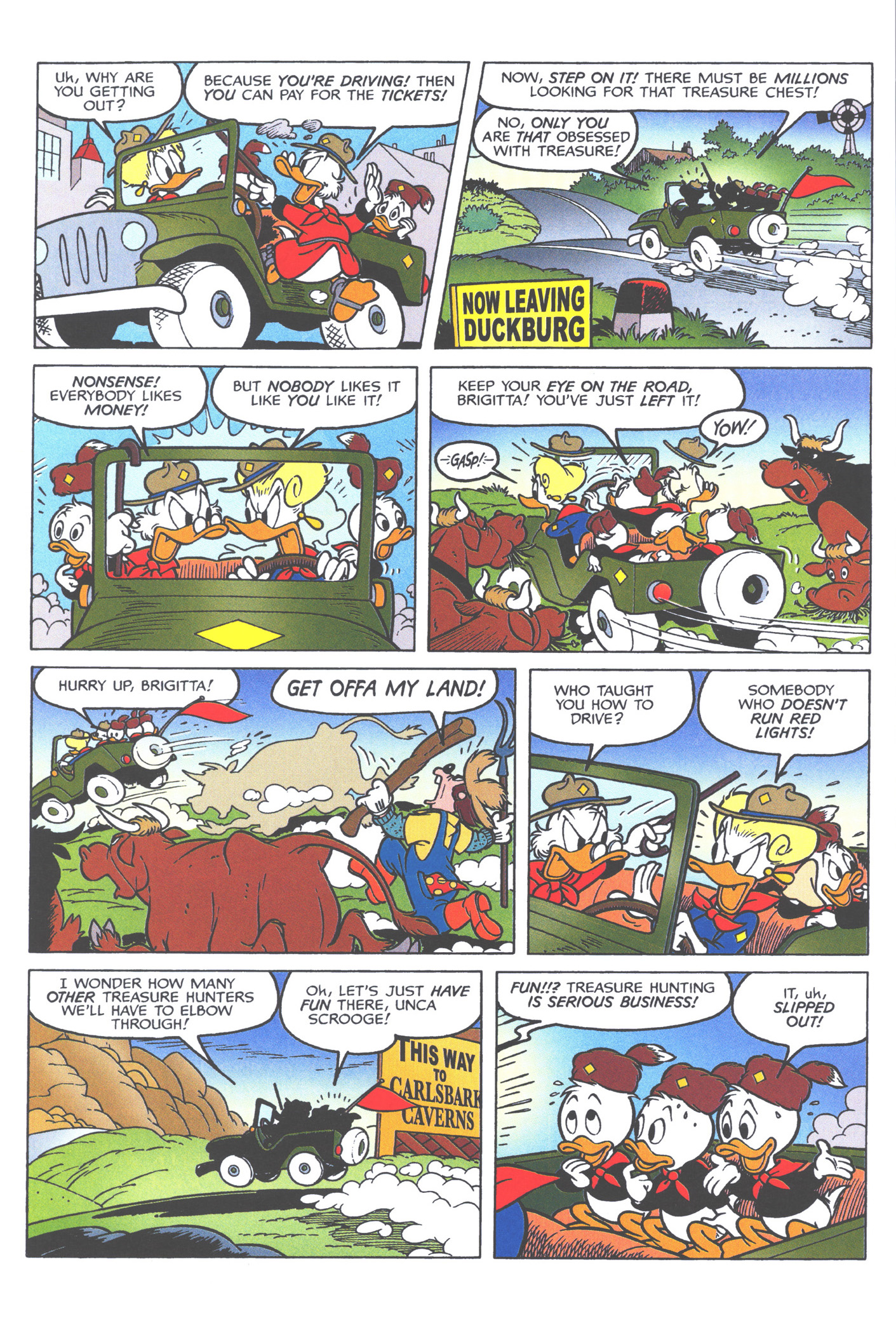 Read online Uncle Scrooge (1953) comic -  Issue #362 - 56