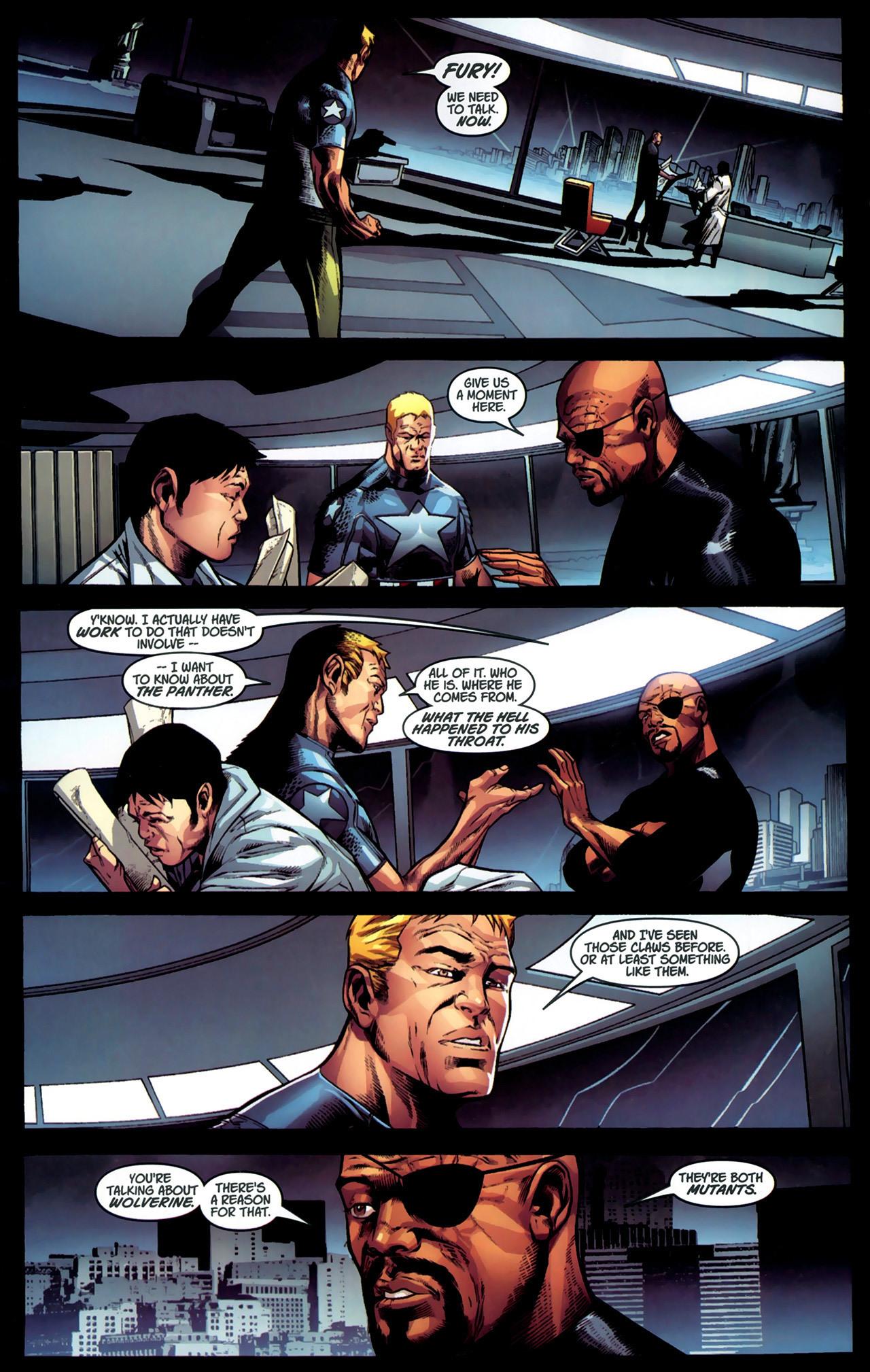 Read online Ultimate Captain America (2008) comic -  Issue # Full - 22