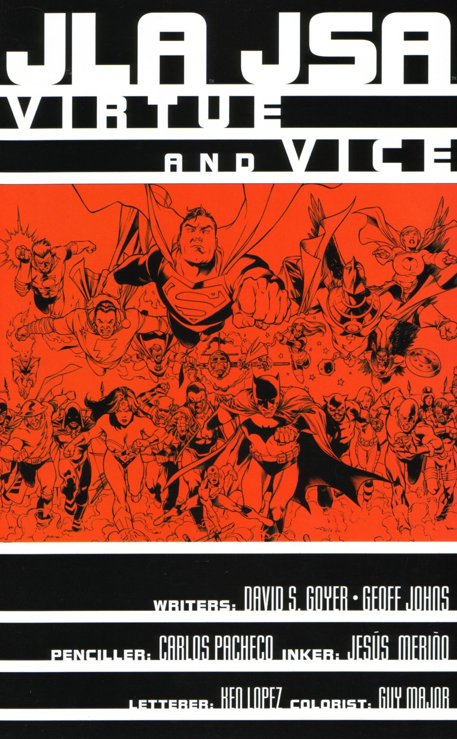 Read online JLA/JSA: Virtue and Vice comic -  Issue # TPB - 4