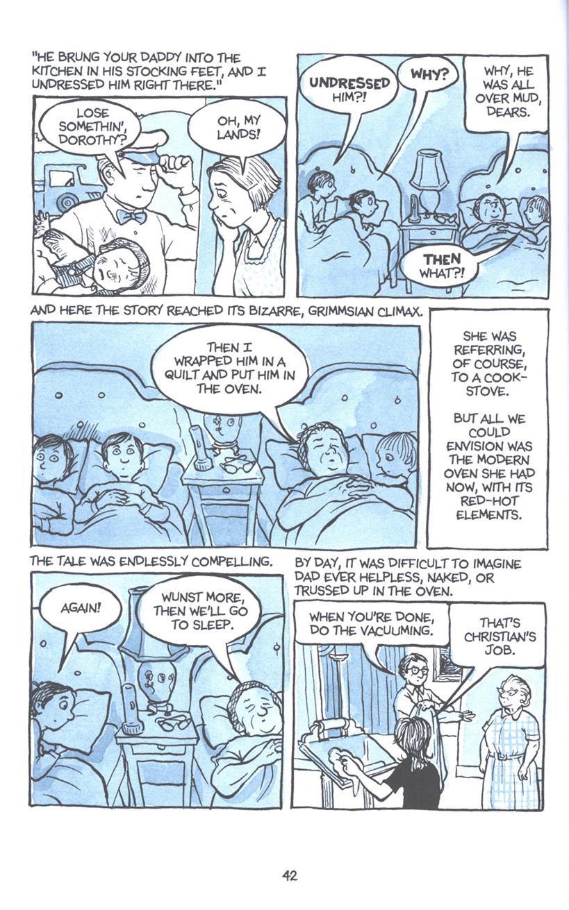 Read online Fun Home: A Family Tragicomic comic -  Issue # TPB - 49
