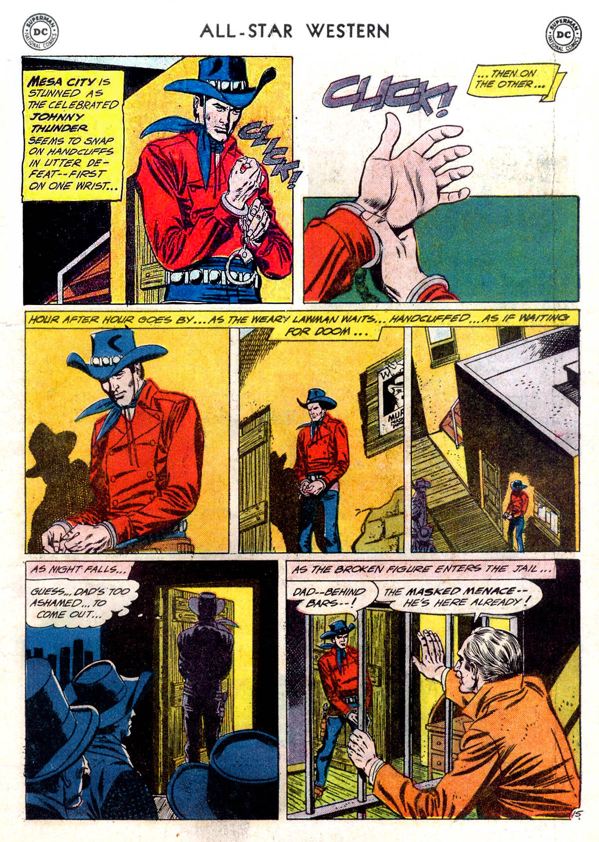 Read online All-Star Western (1951) comic -  Issue #116 - 19