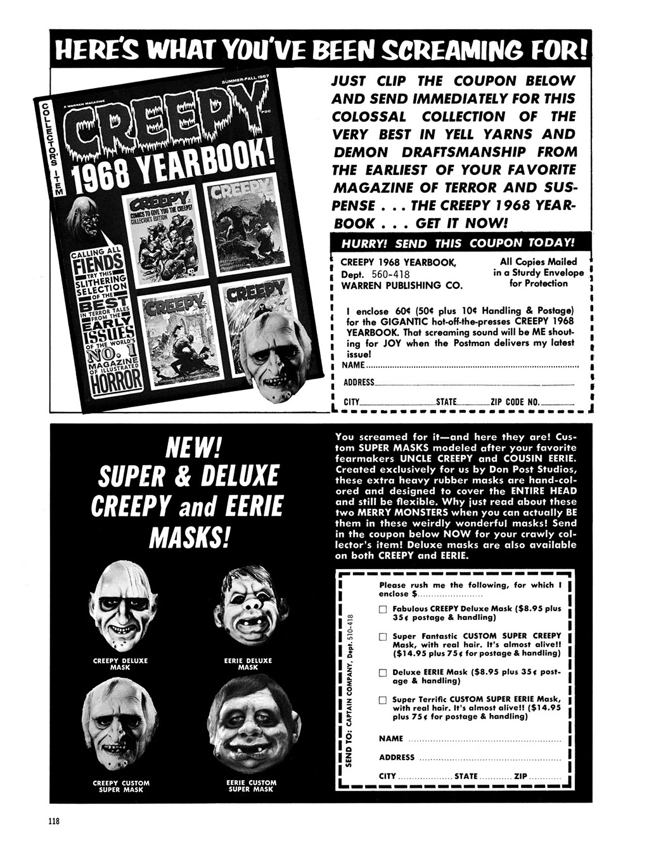 Read online Eerie Archives comic -  Issue # TPB 2 - 119