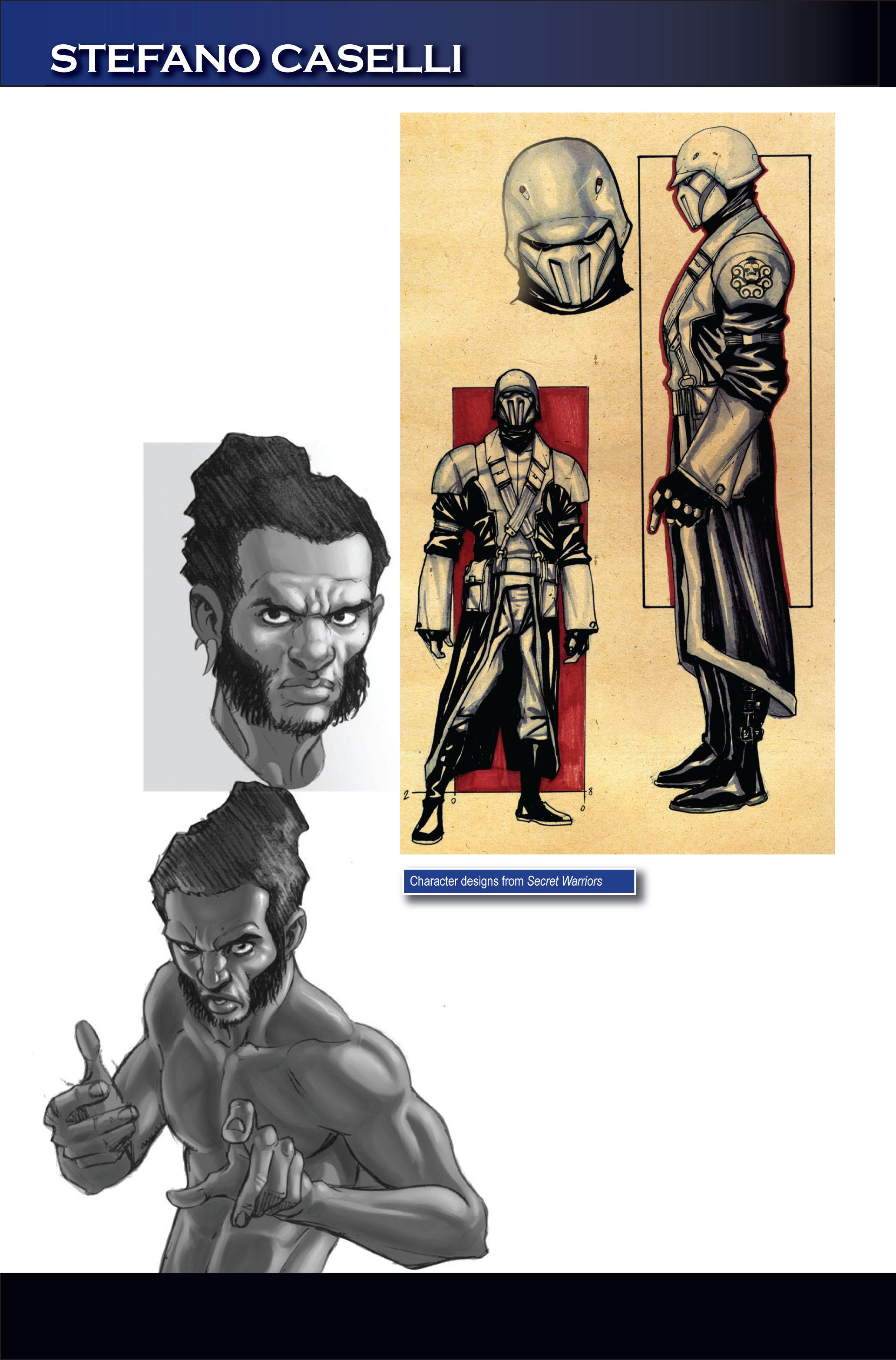 Read online Secret Warriors comic -  Issue #1 - 37