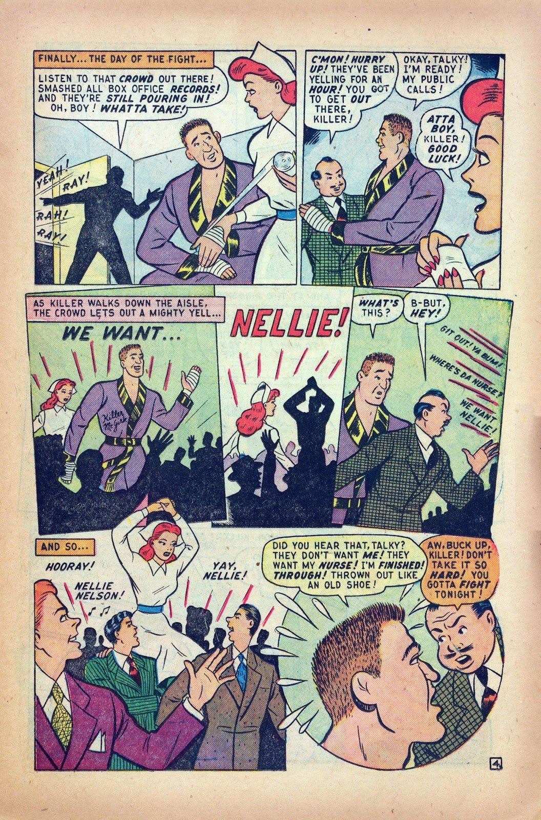 Read online Nellie The Nurse (1945) comic -  Issue #24 - 13