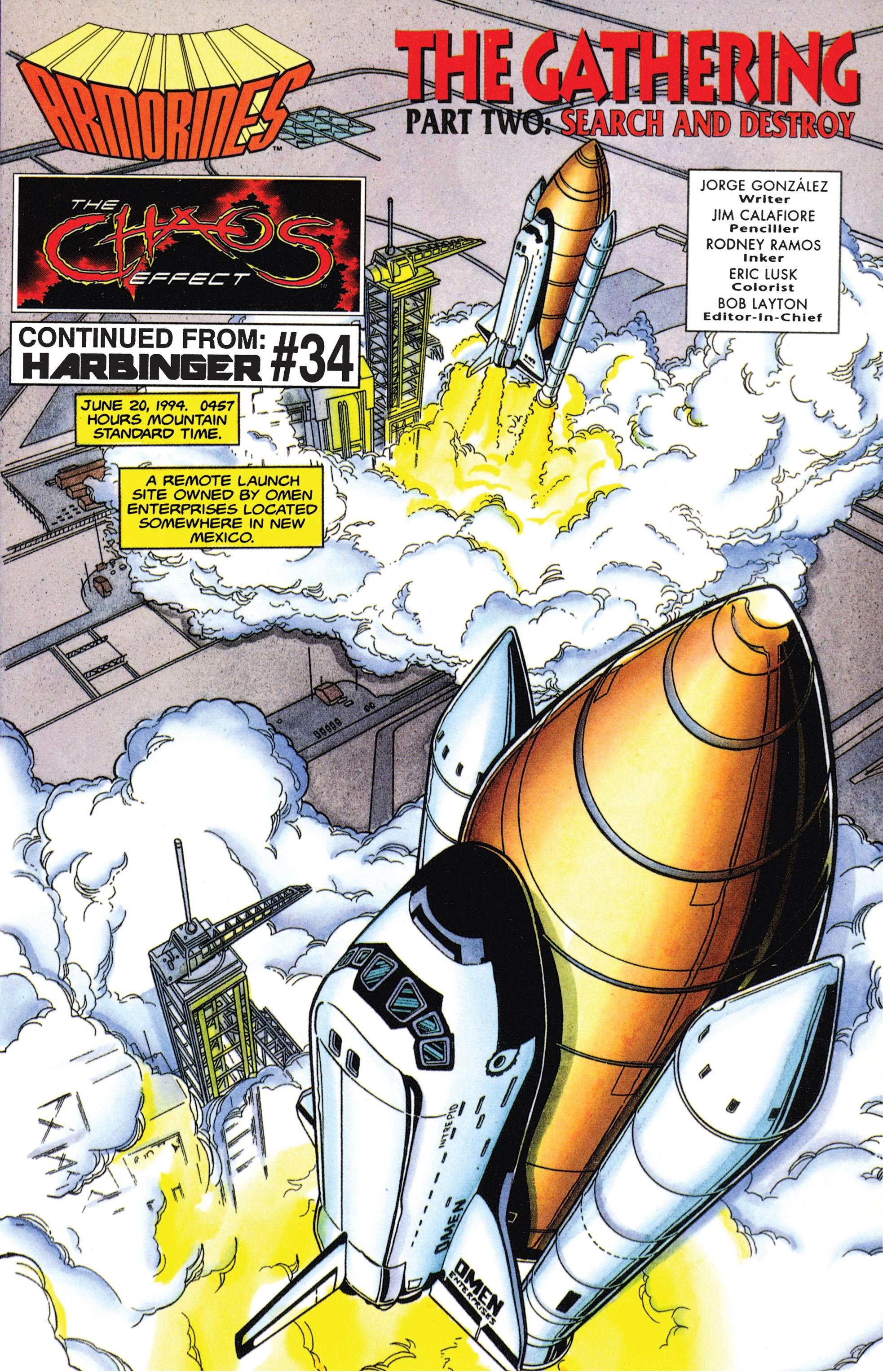 Read online Armorines comic -  Issue #5 - 2