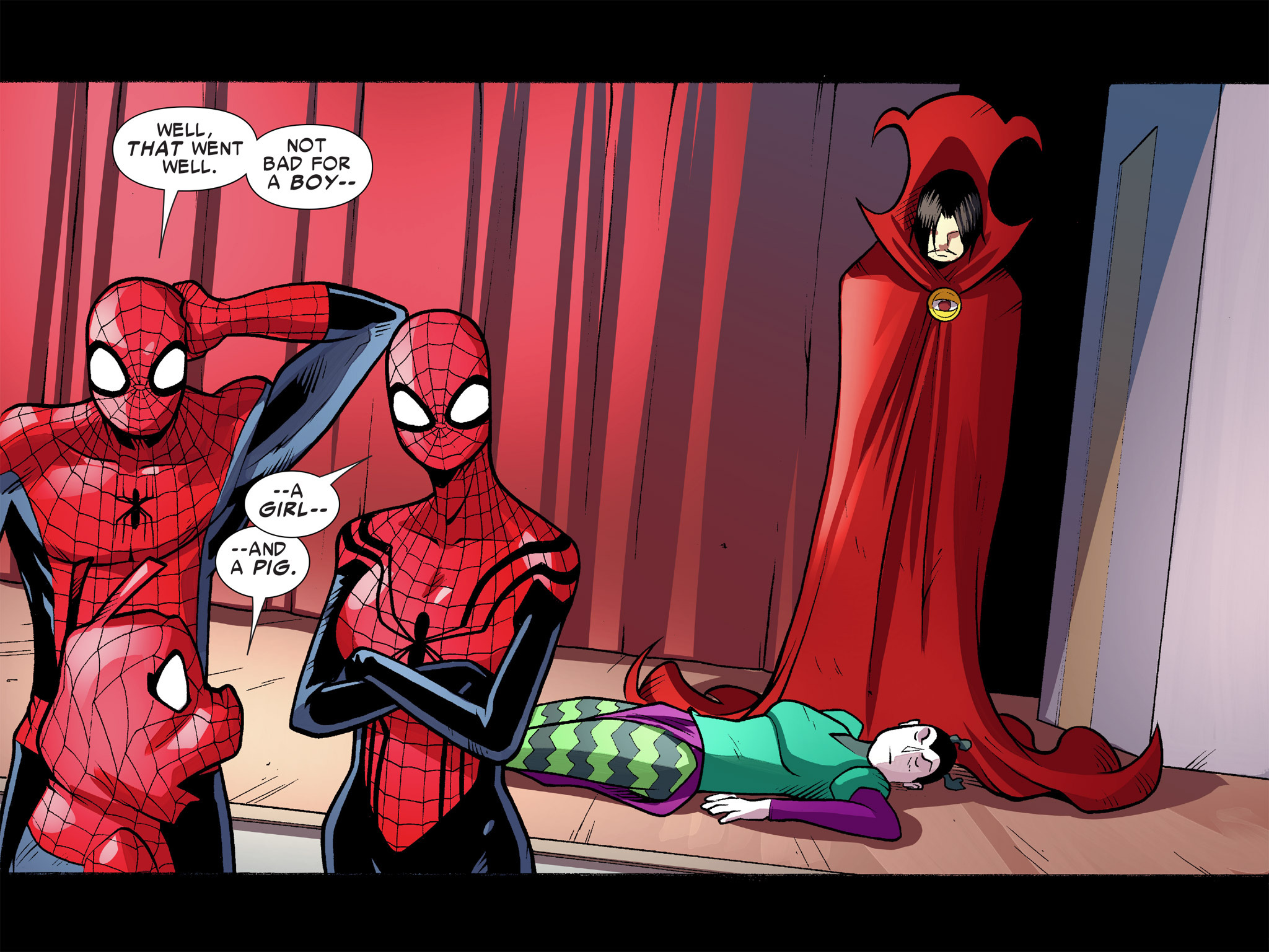 Read online Ultimate Spider-Man (Infinite Comics) (2016) comic -  Issue #10 - 57