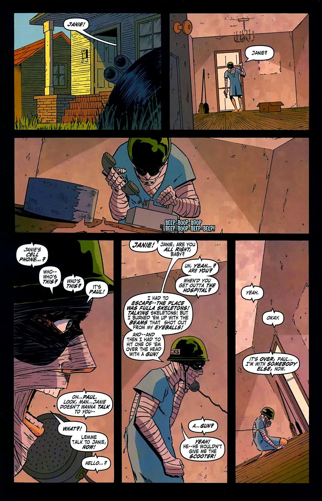 Read online Amazing Fantasy (2004) comic -  Issue #15 - 17