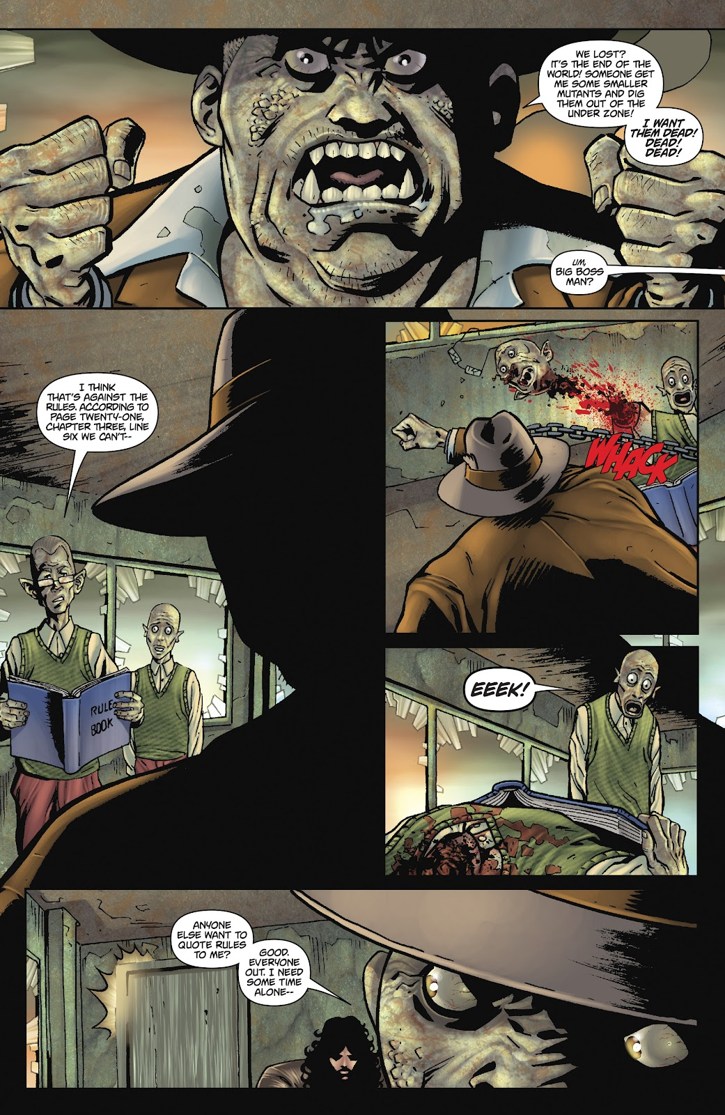 Army of Darkness: The Long Road Home issue TPB - Page 69
